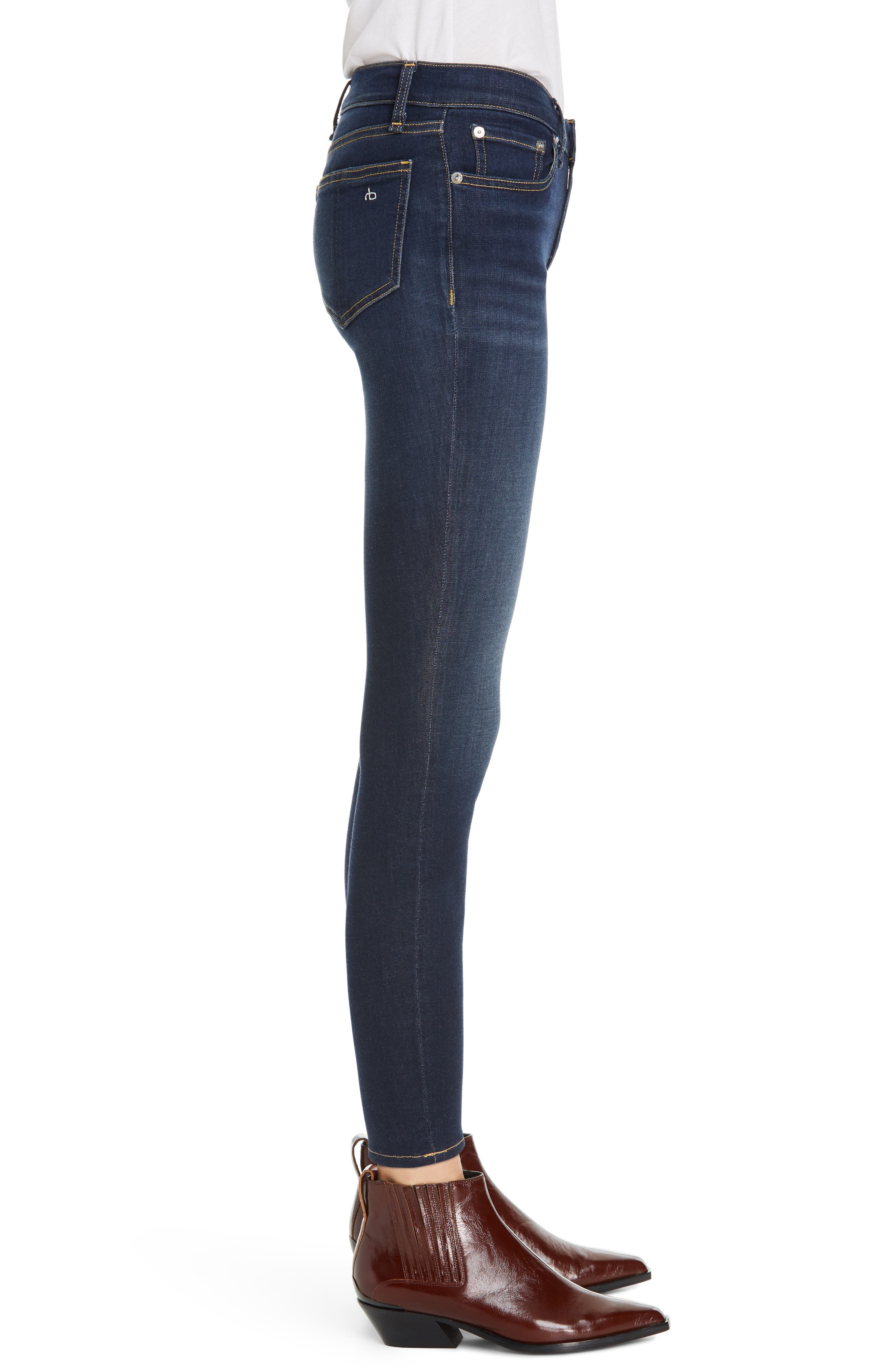 RAG & BONE, Cate Ankle Skinny Jeans, Alternate thumbnail 4, color, CARMEN