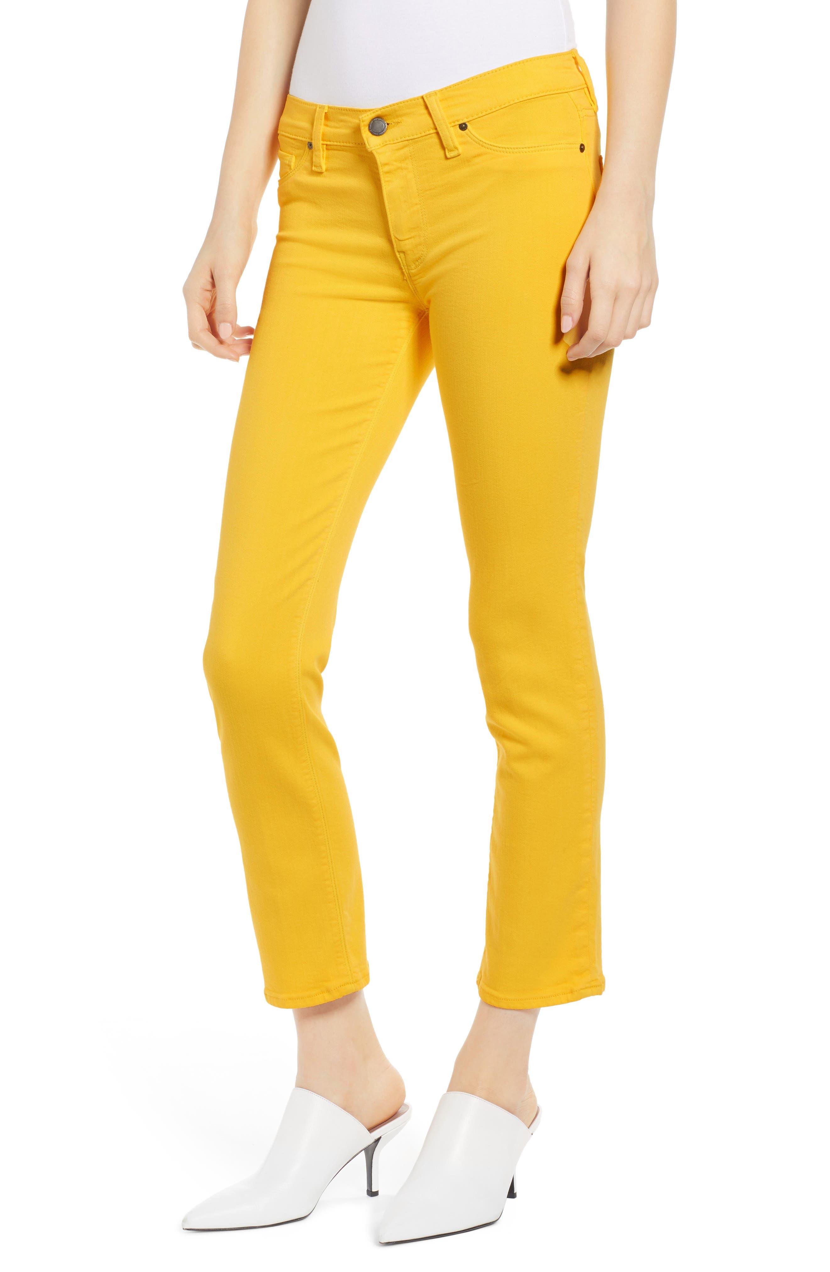 HUDSON JEANS, Hudson Ankle Straight Leg Jeans, Main thumbnail 1, color, STARBURST