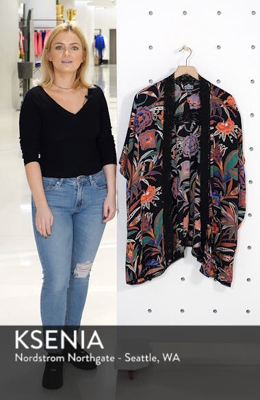 Floral Print Duster, sales video thumbnail