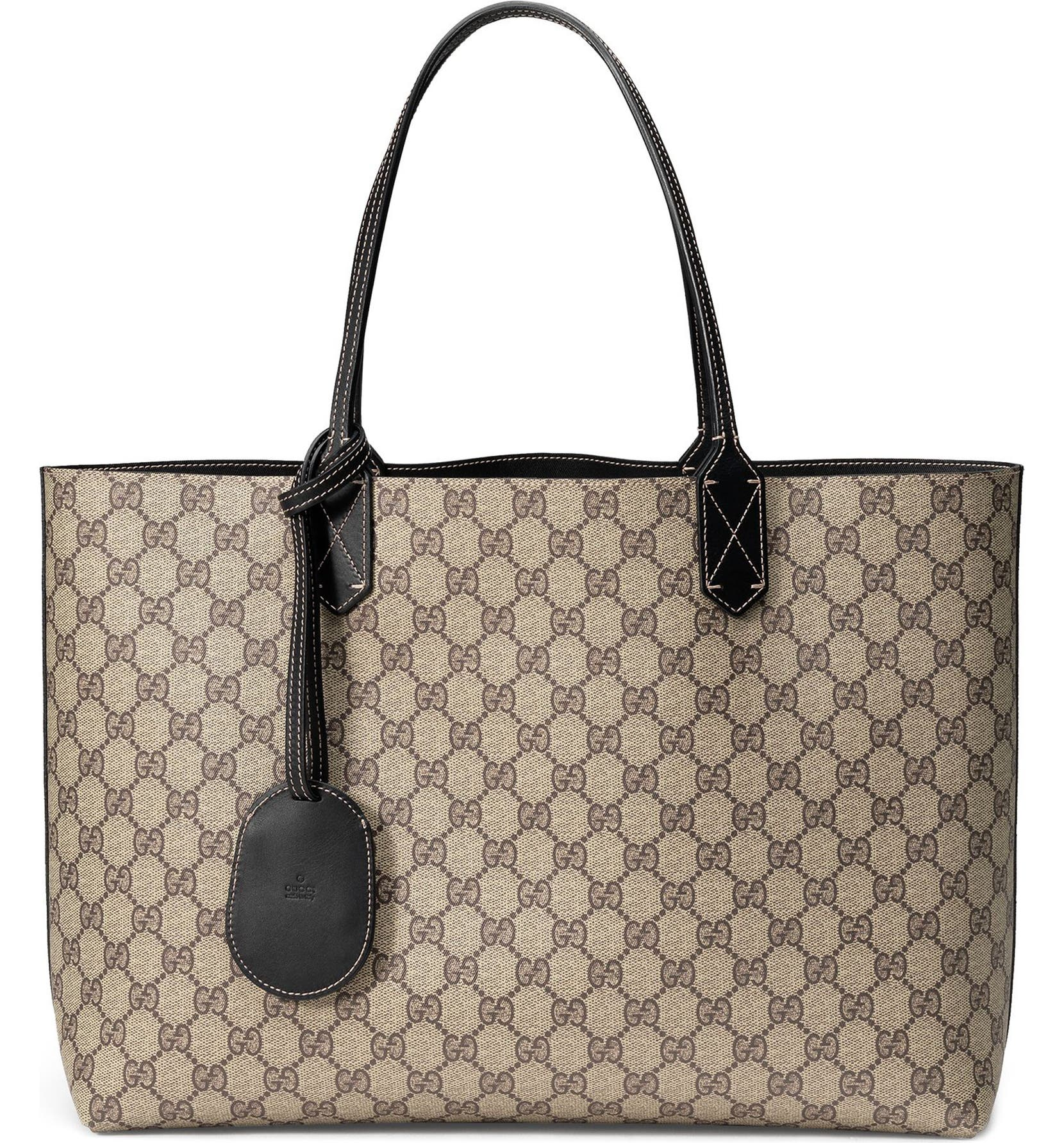 08be90de3aa Gucci Medium Turnaround Reversible Leather Tote