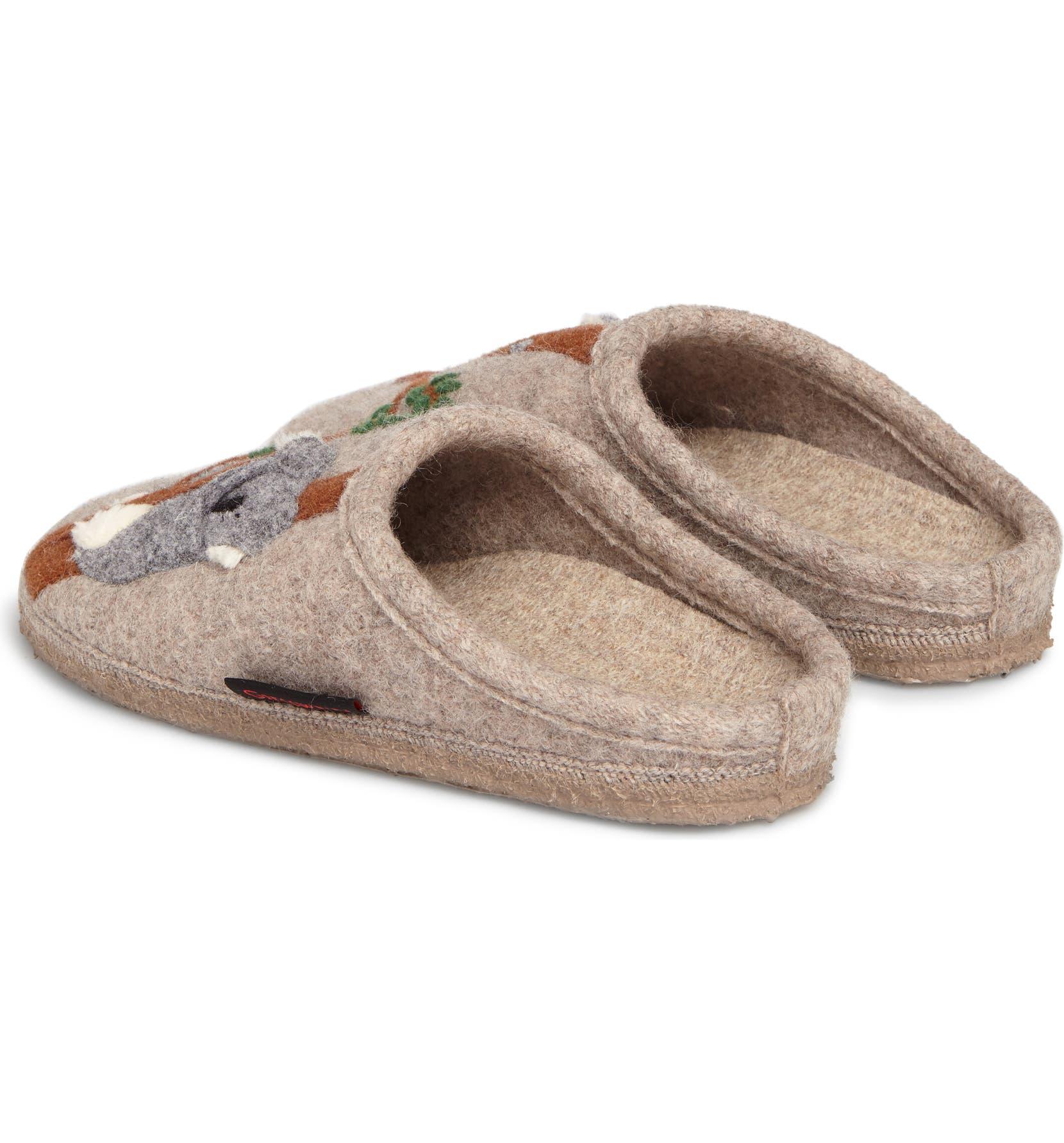 51cab78761ce Giesswein Koala Indoor Boiled Wool Slipper (Women)
