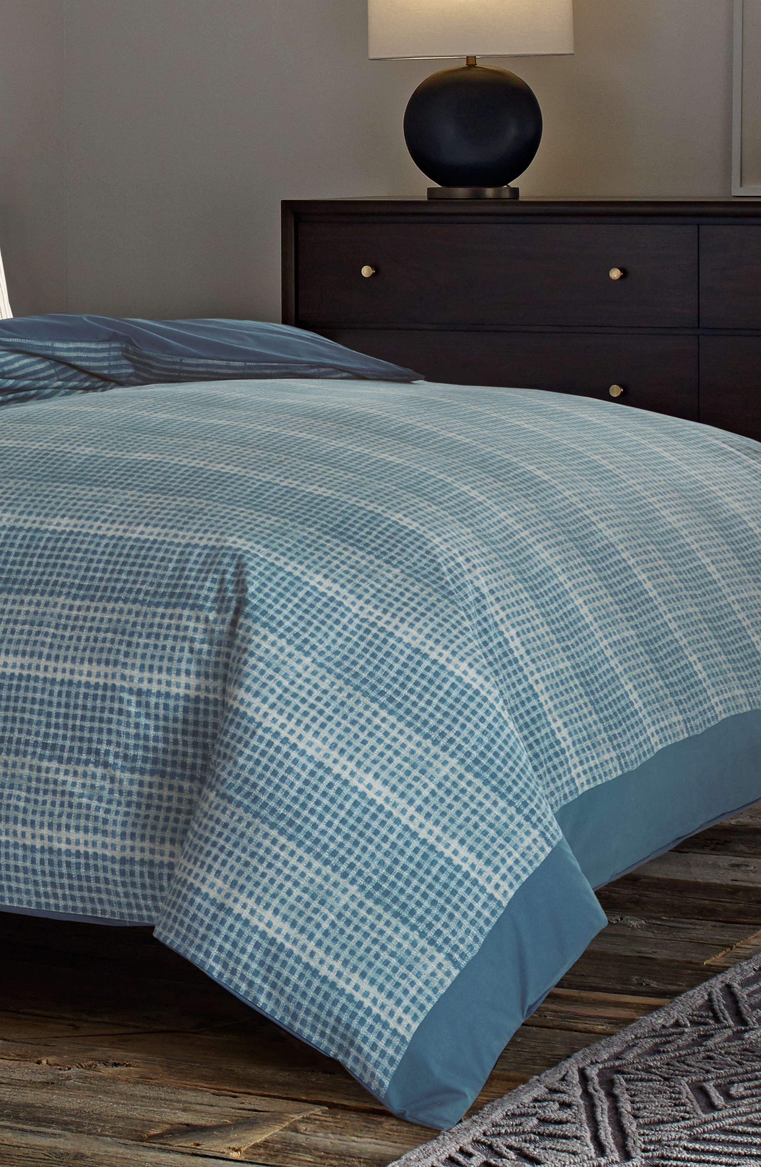 ED ELLEN DEGENERES, Akira Reversible Comforter Set, Alternate thumbnail 2, color, NAVY
