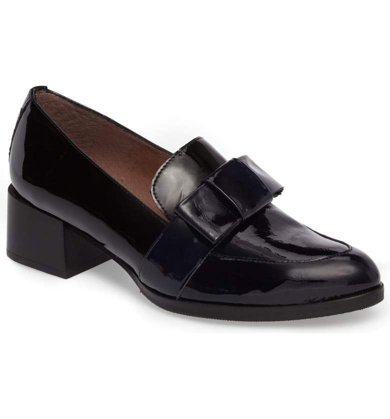c8cdd5e4b79 Wonders Block Heel Loafer Pump (Women)