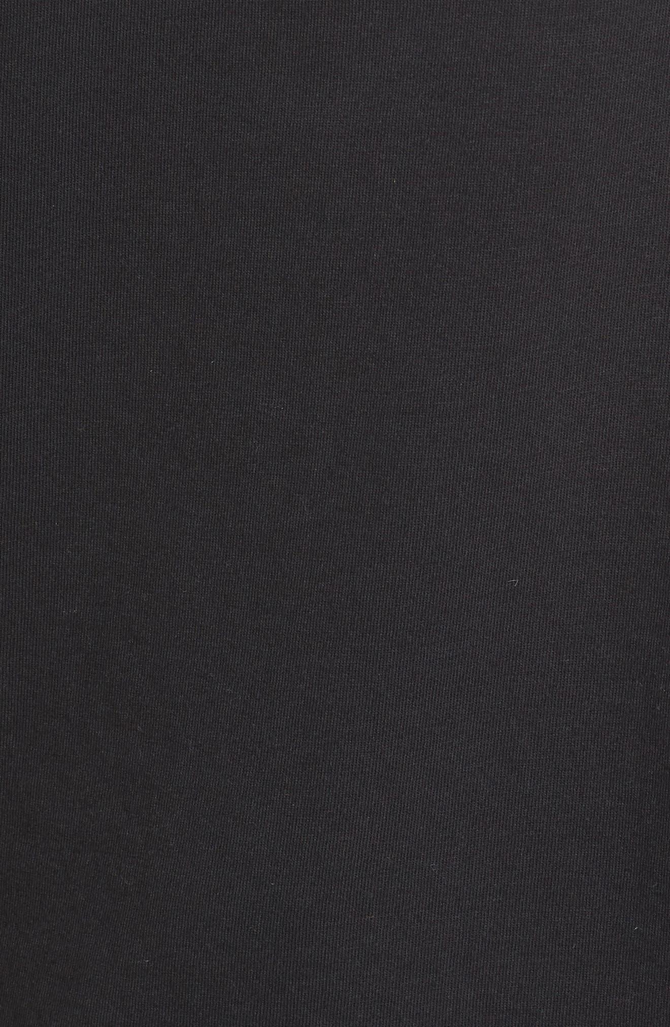 NIKE, Sportswear Essential Futura Muscle Tank, Alternate thumbnail 6, color, BLACK/ WHITE