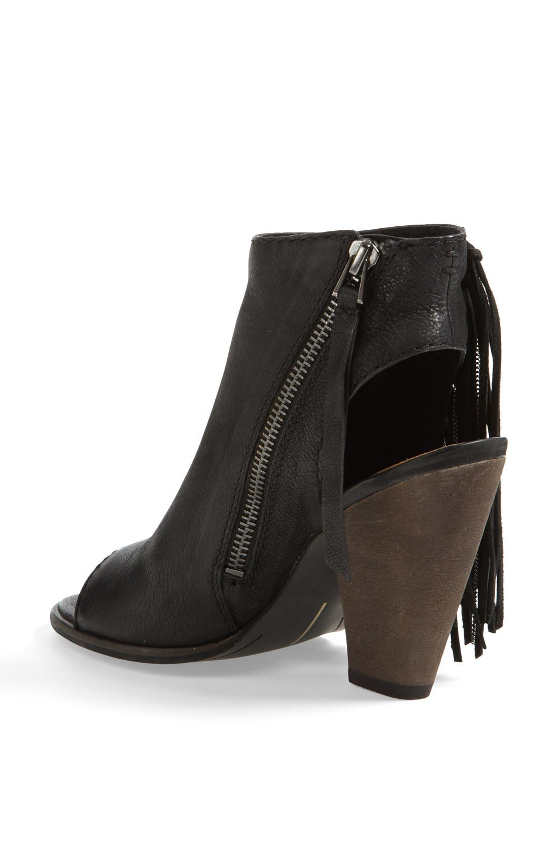 DOLCE VITA, 'Noralee' Bootie, Alternate thumbnail 4, color, 001