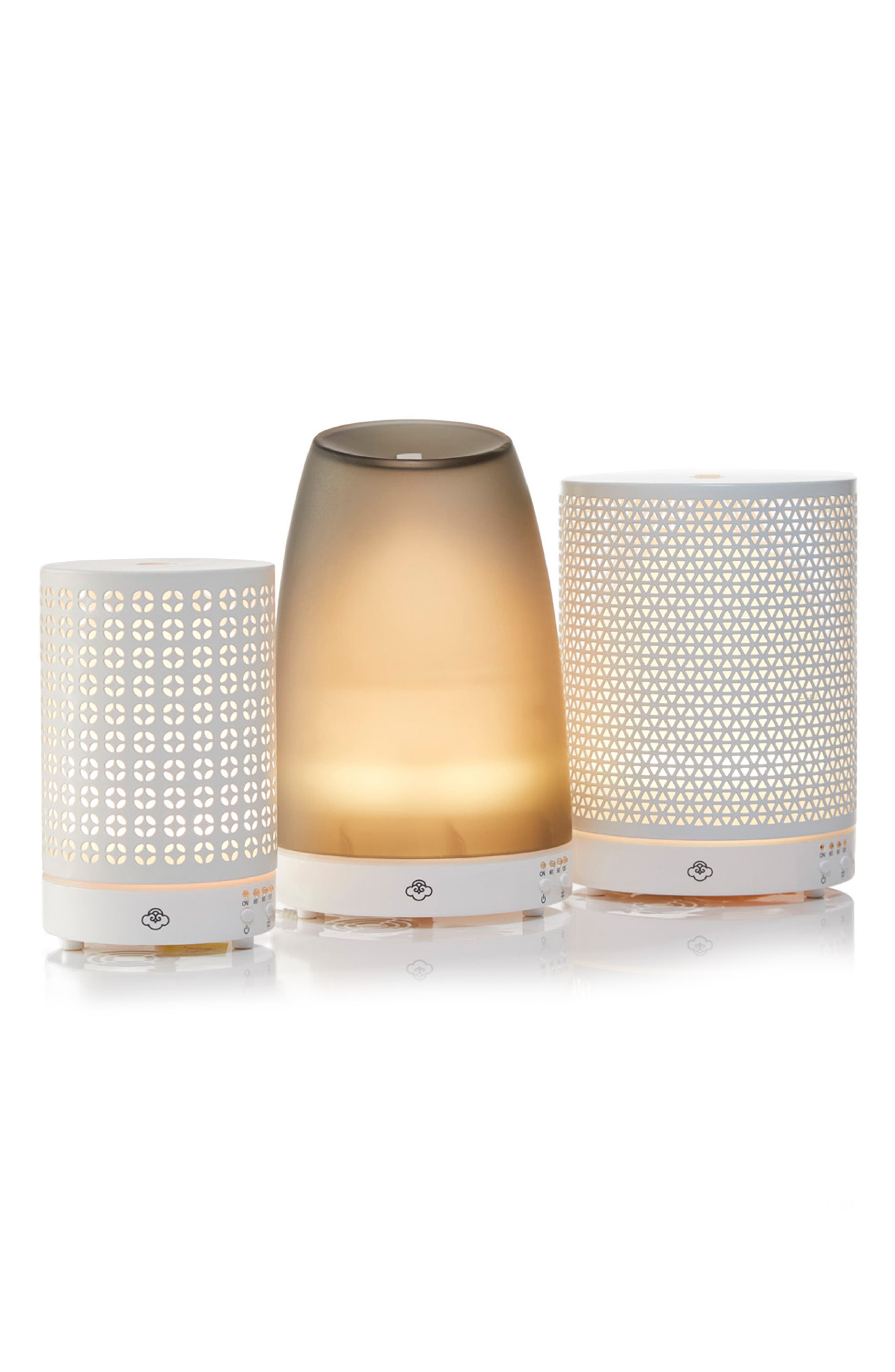 SERENE HOUSE, Asterism Electric Aromatherapy Diffuser, Alternate thumbnail 2, color, WHITE