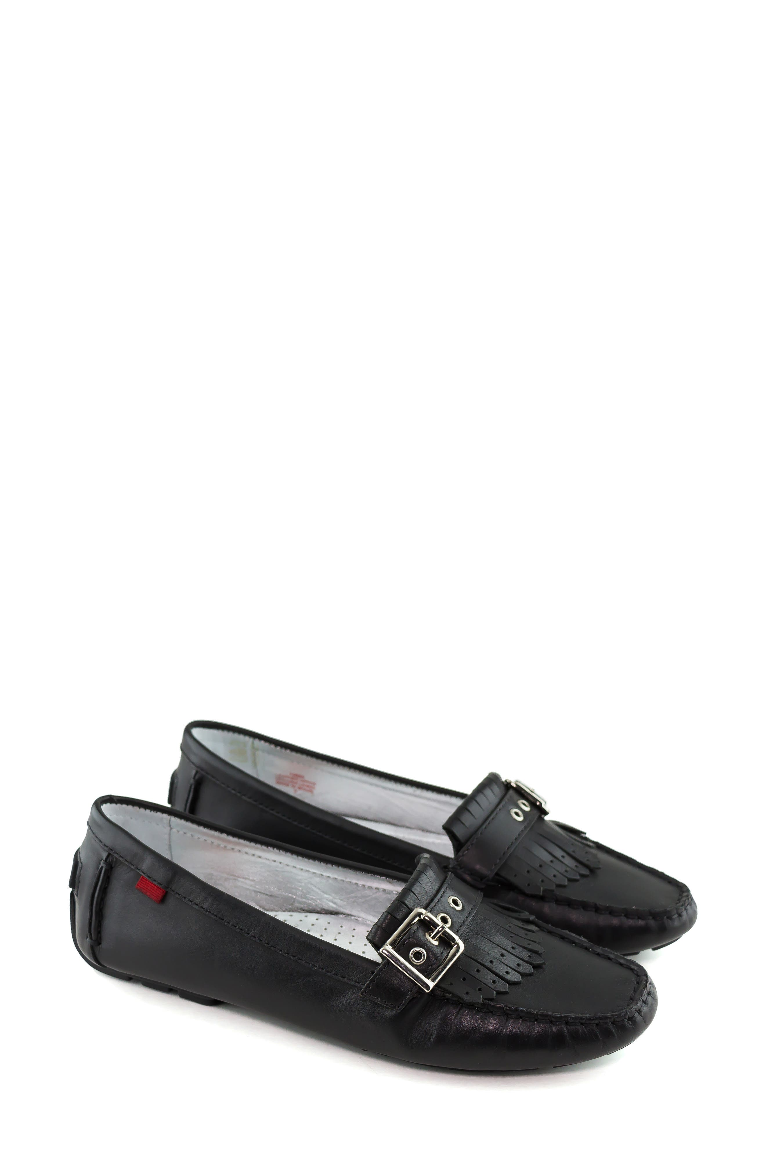 MARC JOSEPH NEW YORK, South Street Loafer, Alternate thumbnail 8, color, BLACK LEATHER