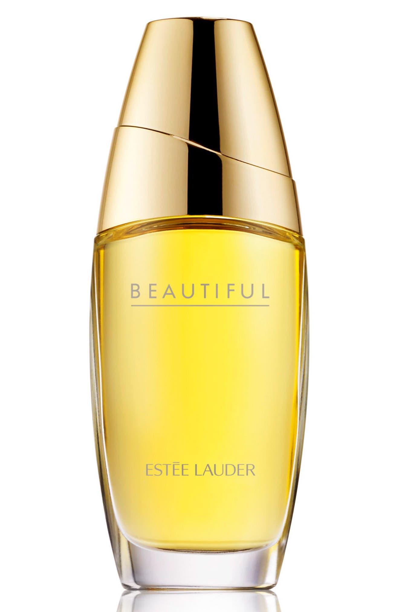 ESTÉE LAUDER, Beautiful Eau de Parfum Spray, Main thumbnail 1, color, NO COLOR