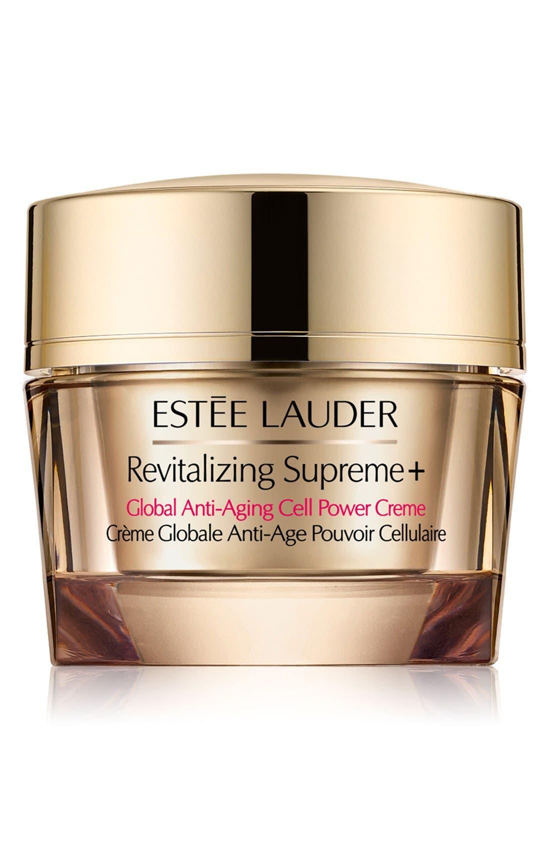 ESTÉE LAUDER, Revitalizing Supreme+ Global Anti-Aging Cell Power Creme, Main thumbnail 1, color, NO COLOR