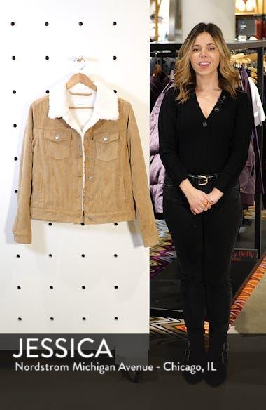 Paddington Fleece Lined Corduroy Jacket, sales video thumbnail