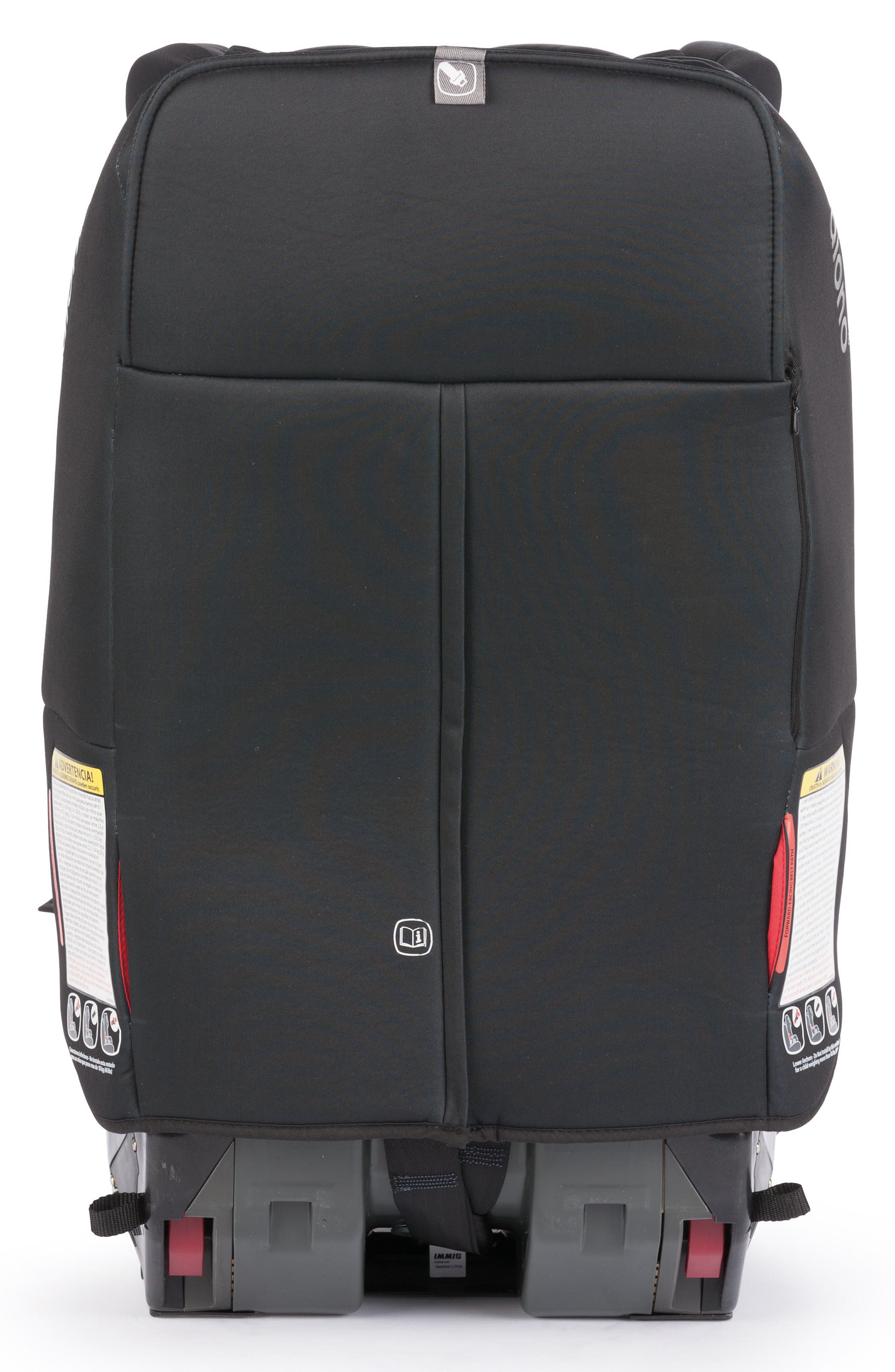 DIONO, radian<sup>®</sup> 3 rXT Rear & Forward Facing Car Seat, Alternate thumbnail 2, color, BLACK