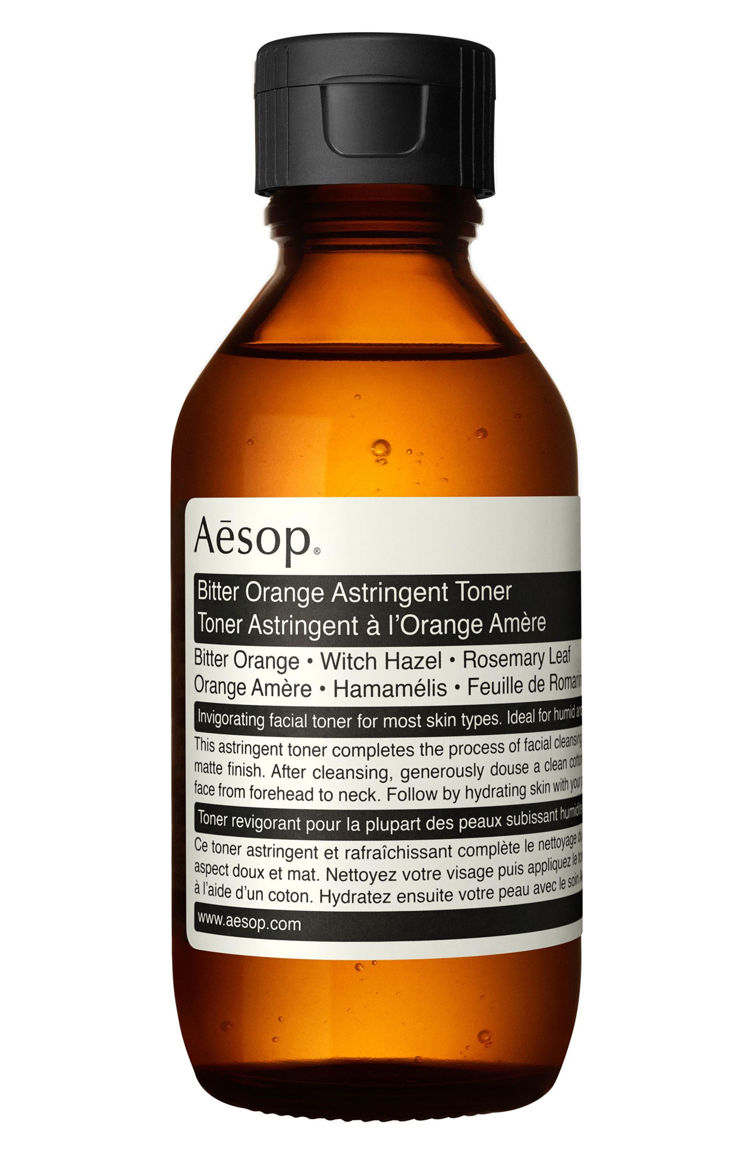 AESOP, Bitter Orange Astringent Toner, Main thumbnail 1, color, NONE