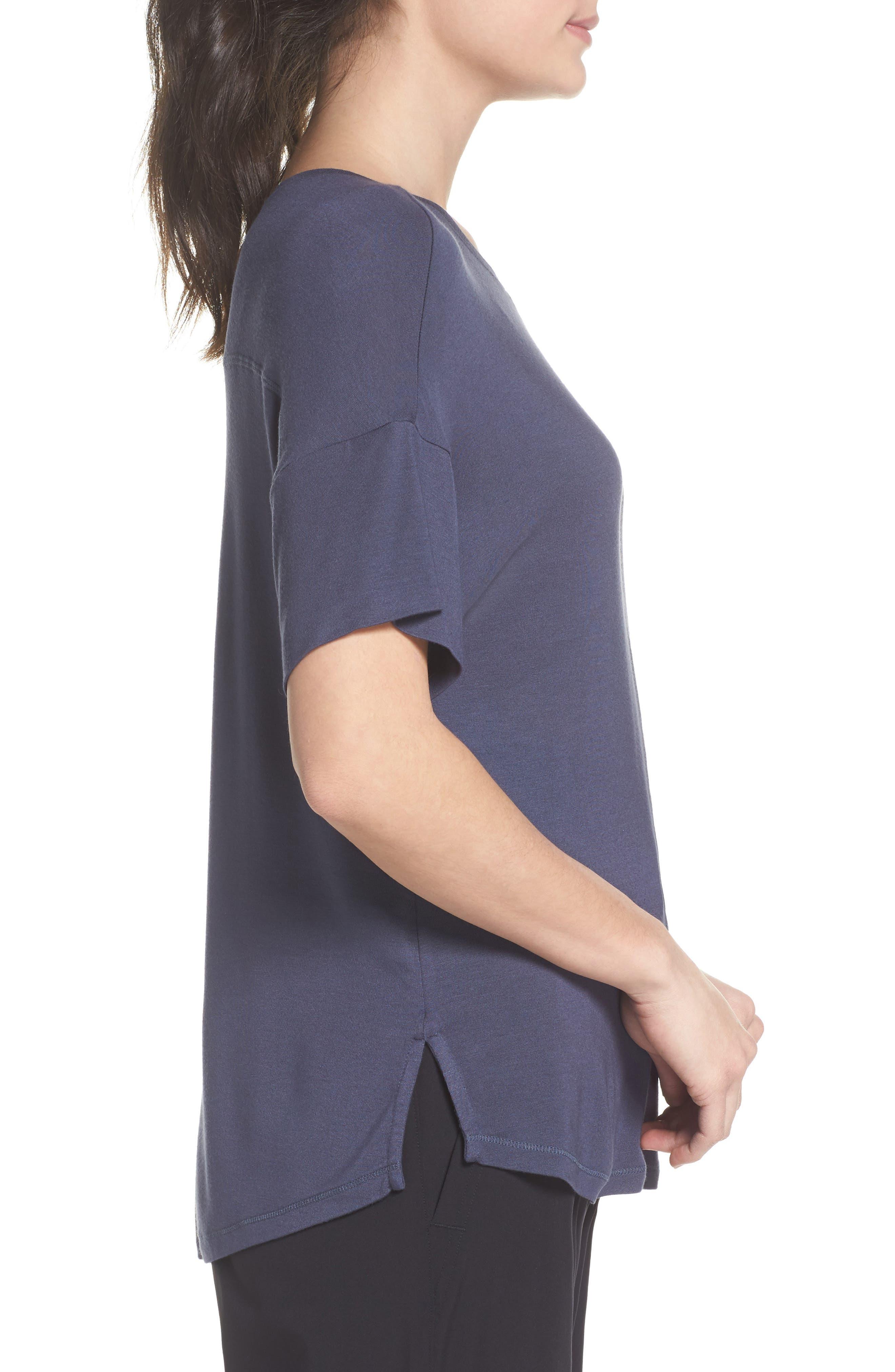 ZELLA, New Energy T-Shirt, Alternate thumbnail 4, color, GREY SLATE