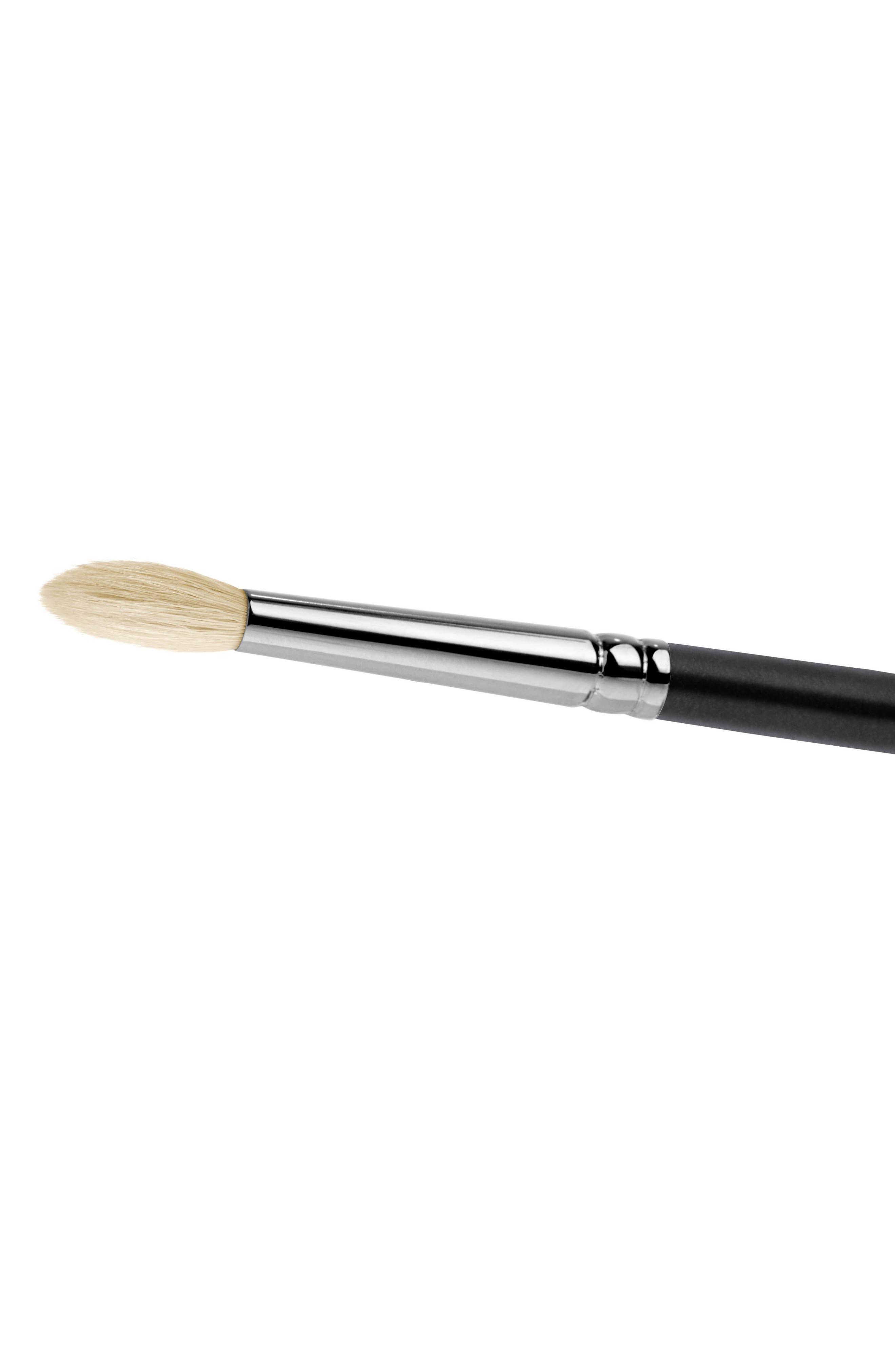 MAC COSMETICS, MAC 221S Synthetic Mini Tapered Blending Brush, Alternate thumbnail 2, color, NO COLOR