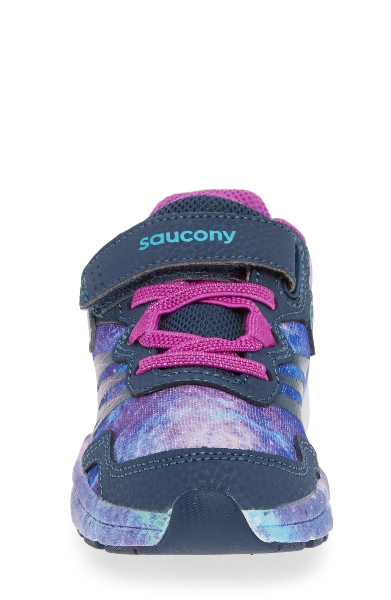 SAUCONY, Kotaro Flash Sneaker, Alternate thumbnail 4, color, PURPLE LEATHER/ MESH