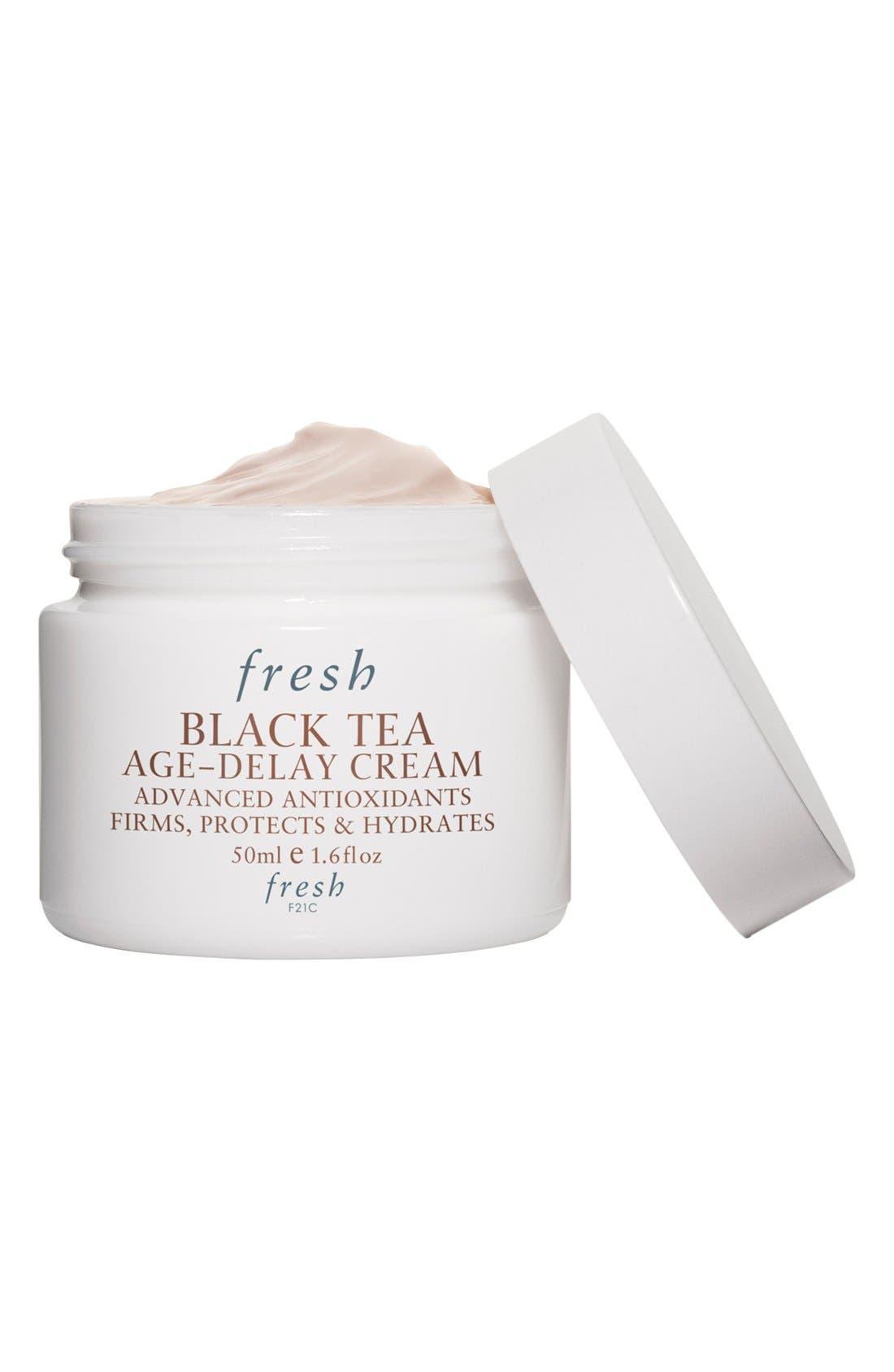 FRESH<SUP>®</SUP>, Black Tea Age-Delay Cream, Alternate thumbnail 4, color, NO COLOR