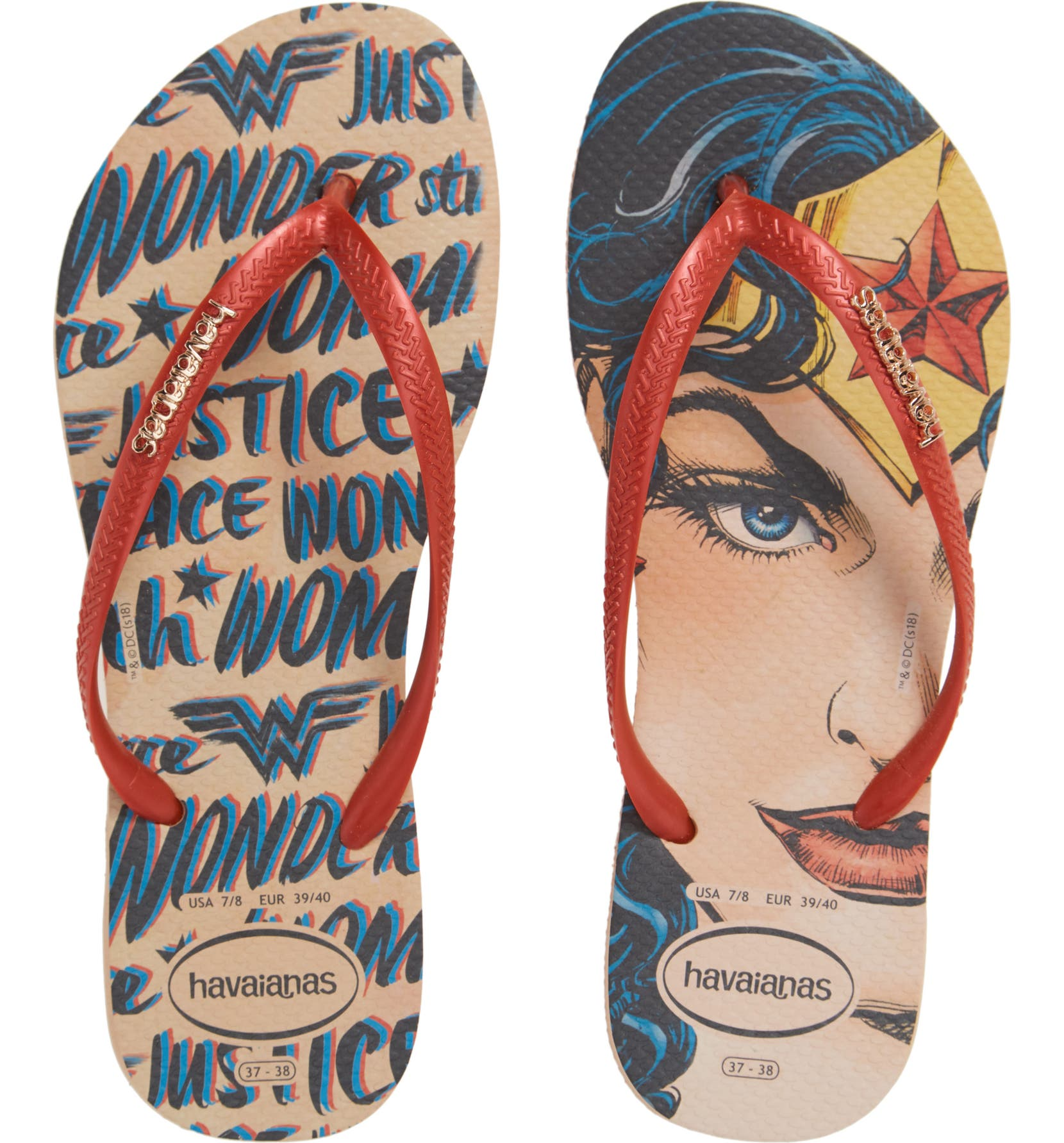 e3328fe87 Havaianas Slim Wonder Woman Flip Flop (Women)