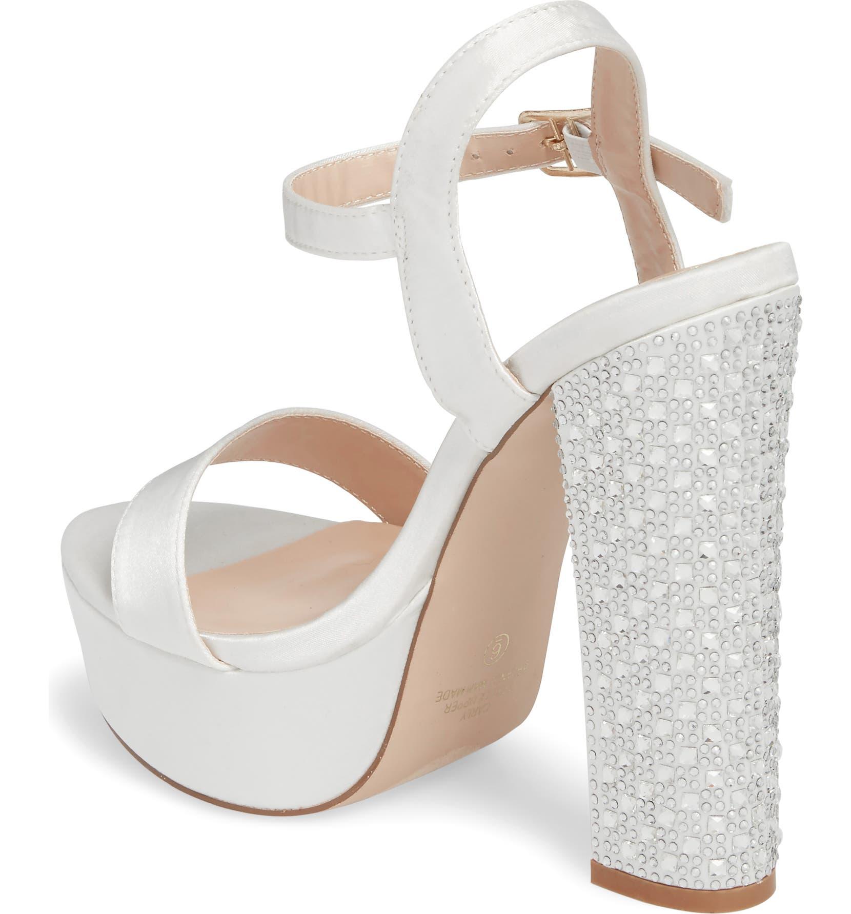 57318e81a89 Lauren Lorraine Carly Platform Sandal (Women)