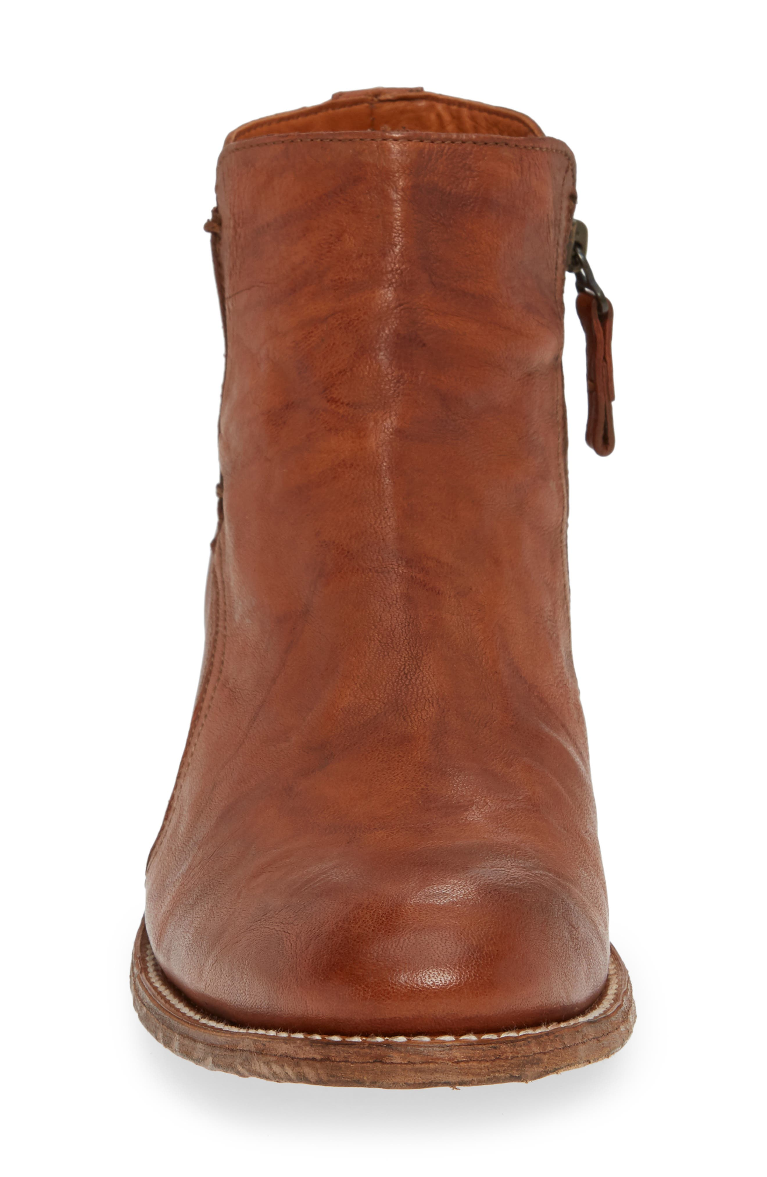 TWO24, by Ariat Lockwood Zip Boot, Alternate thumbnail 4, color, COGNAC LEATHER