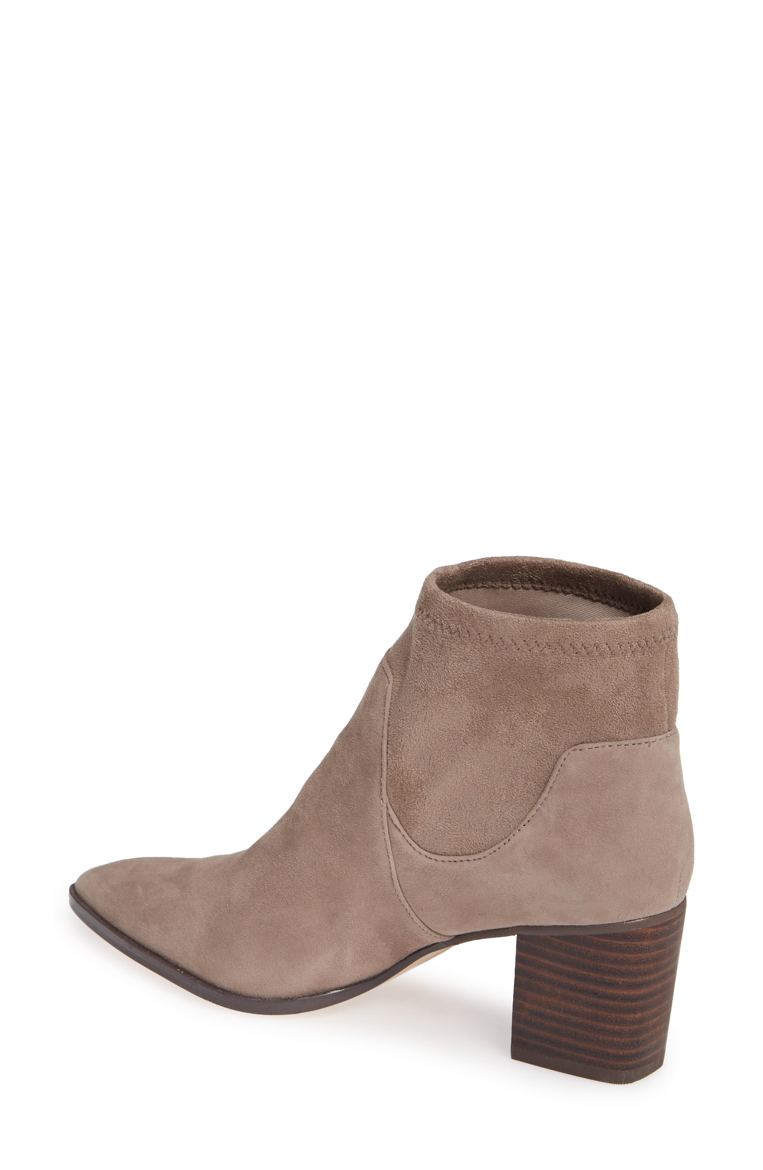 SOLE SOCIETY, Dawnina Bootie, Alternate thumbnail 2, color, PORCINI SUEDE