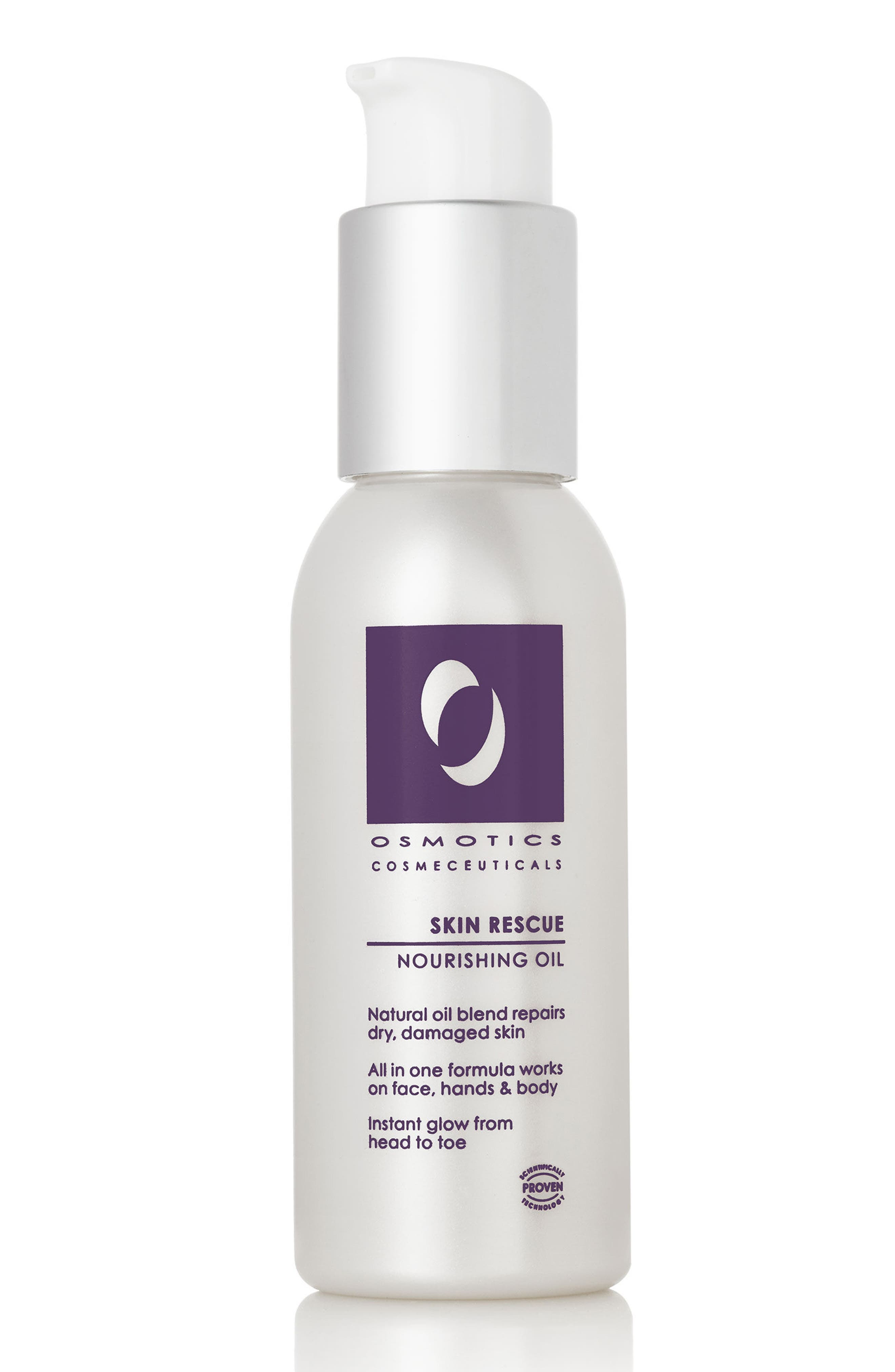 OSMOTICS COSMECEUTICALS, Skin Rescue Nourishing Oil, Main thumbnail 1, color, NO COLOR