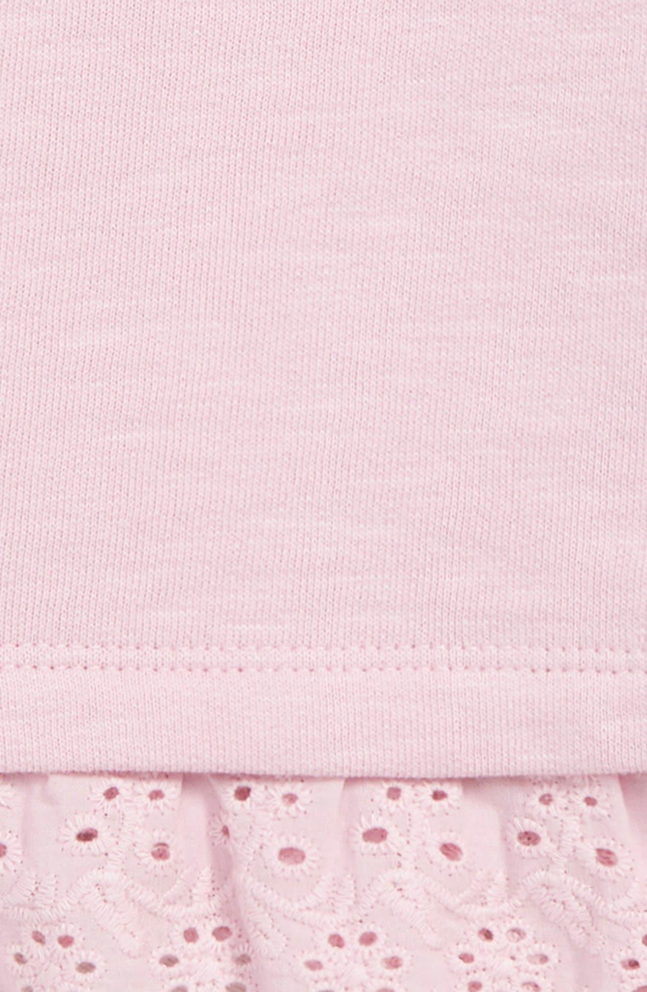 MINI BODEN, Frilly Broderie Sweatshirt, Alternate thumbnail 2, color, 664