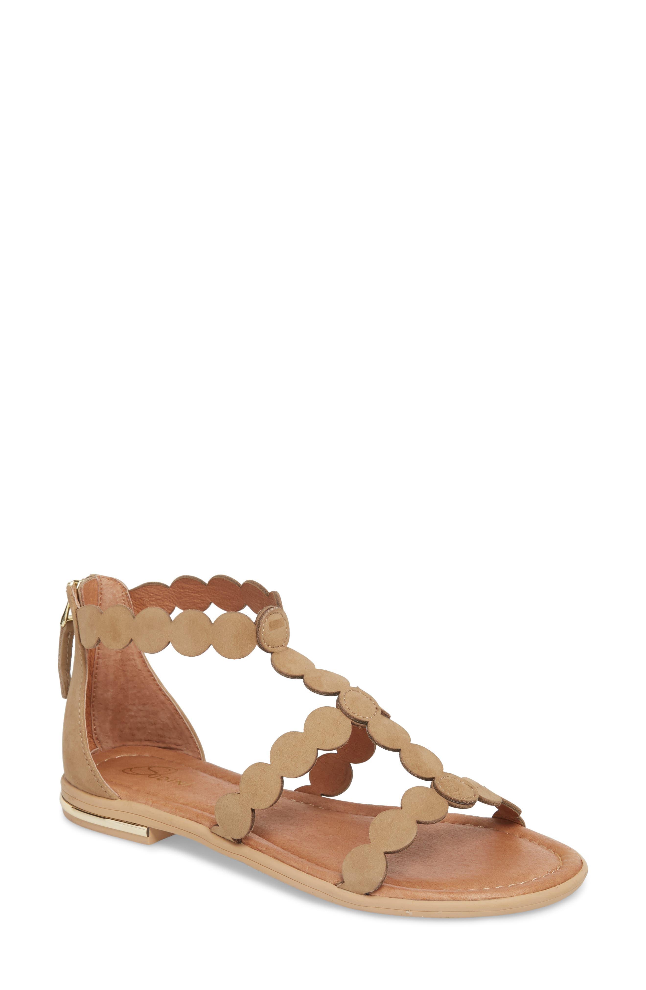 SUDINI Rovigo Sandal, Main, color, NAVIGATE SUEDE