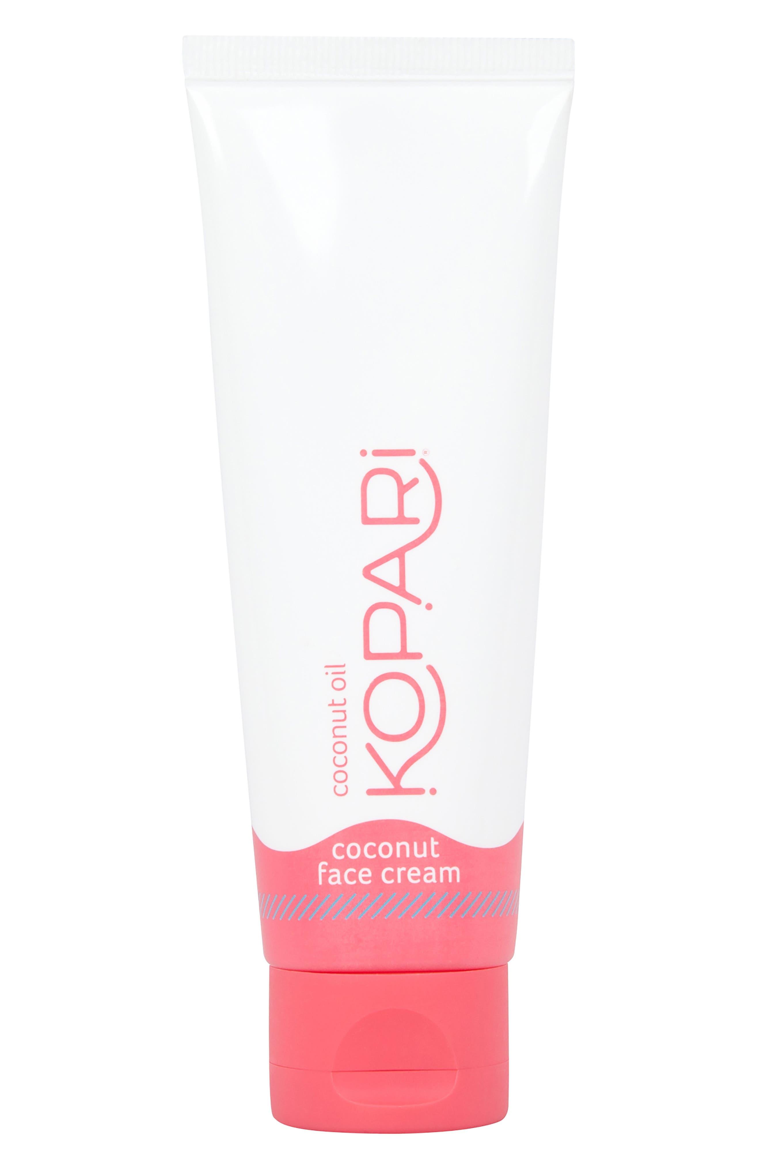 KOPARI, Coconut Face Cream, Main thumbnail 1, color, NO COLOR
