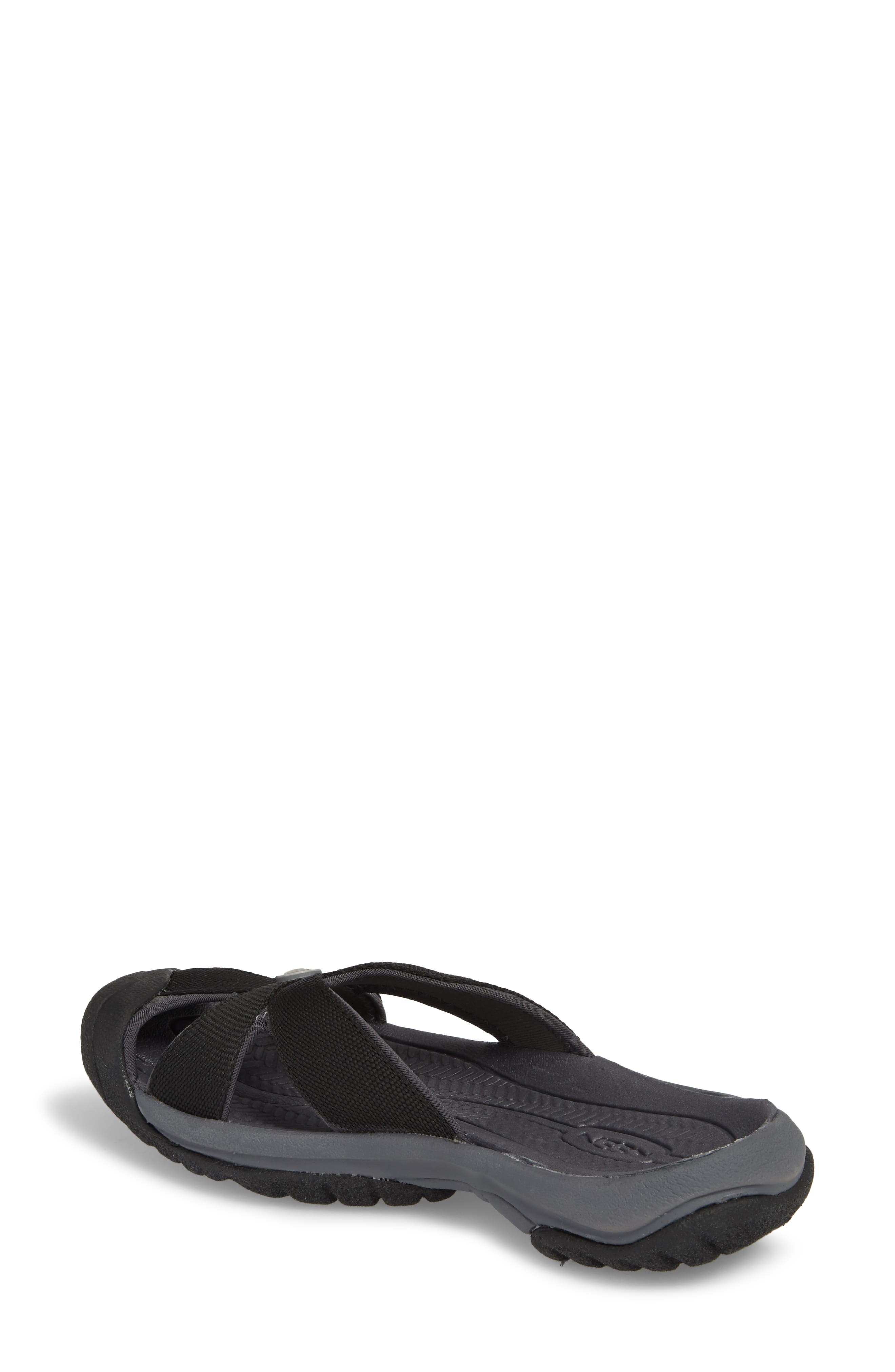 KEEN, 'Bali' Sandal, Alternate thumbnail 2, color, BLACK/ MAGNET