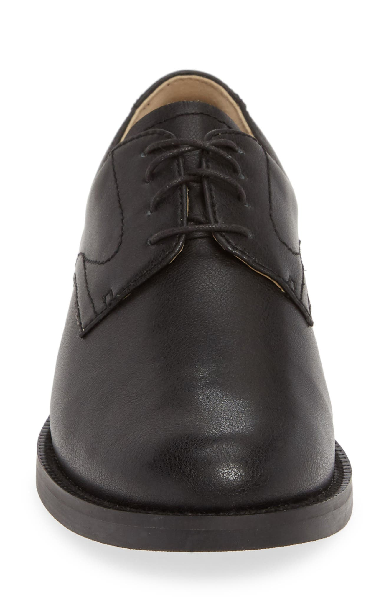 1901, Grady Oxford, Alternate thumbnail 4, color, BLACK LEATHER