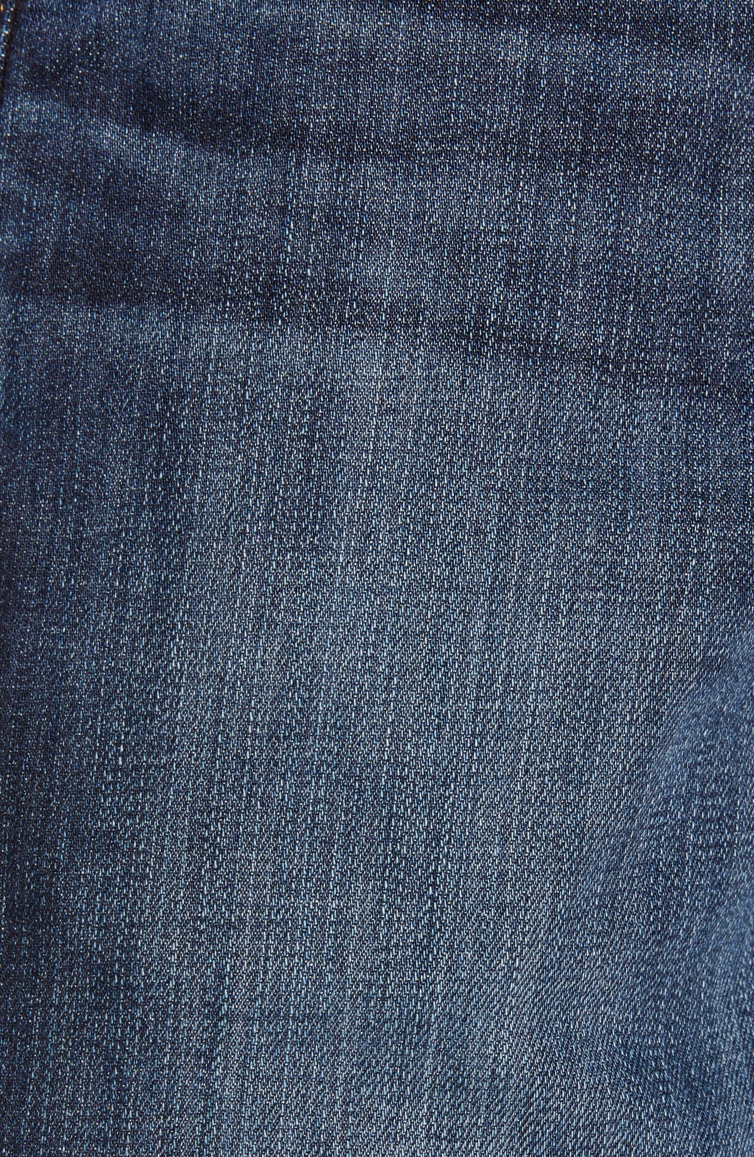 AG, Graduate Slim Straight Leg Jeans, Alternate thumbnail 6, color, WETHERBURN
