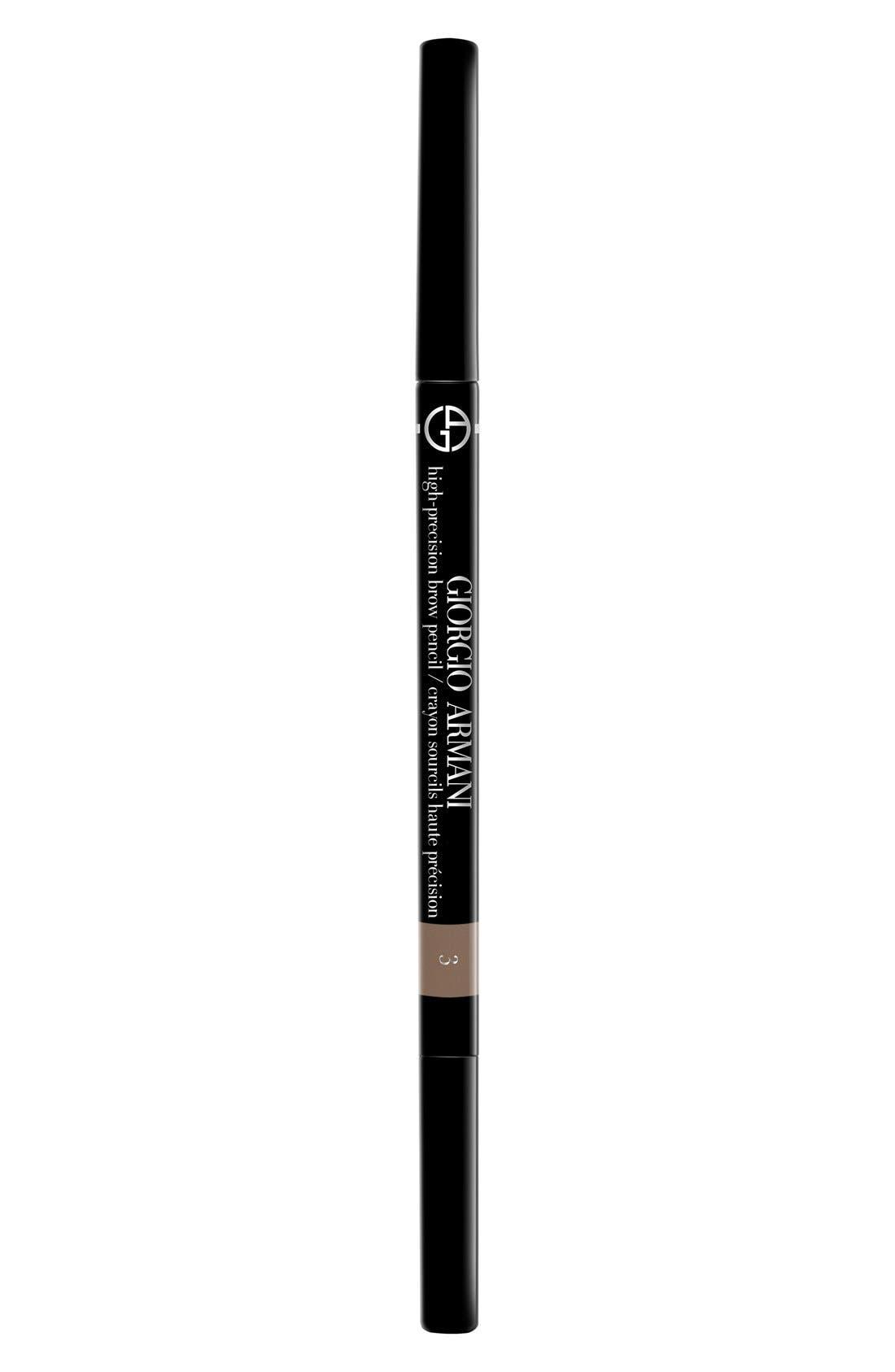 GIORGIO ARMANI, High-Precision Brow Pencil, Alternate thumbnail 2, color, 3