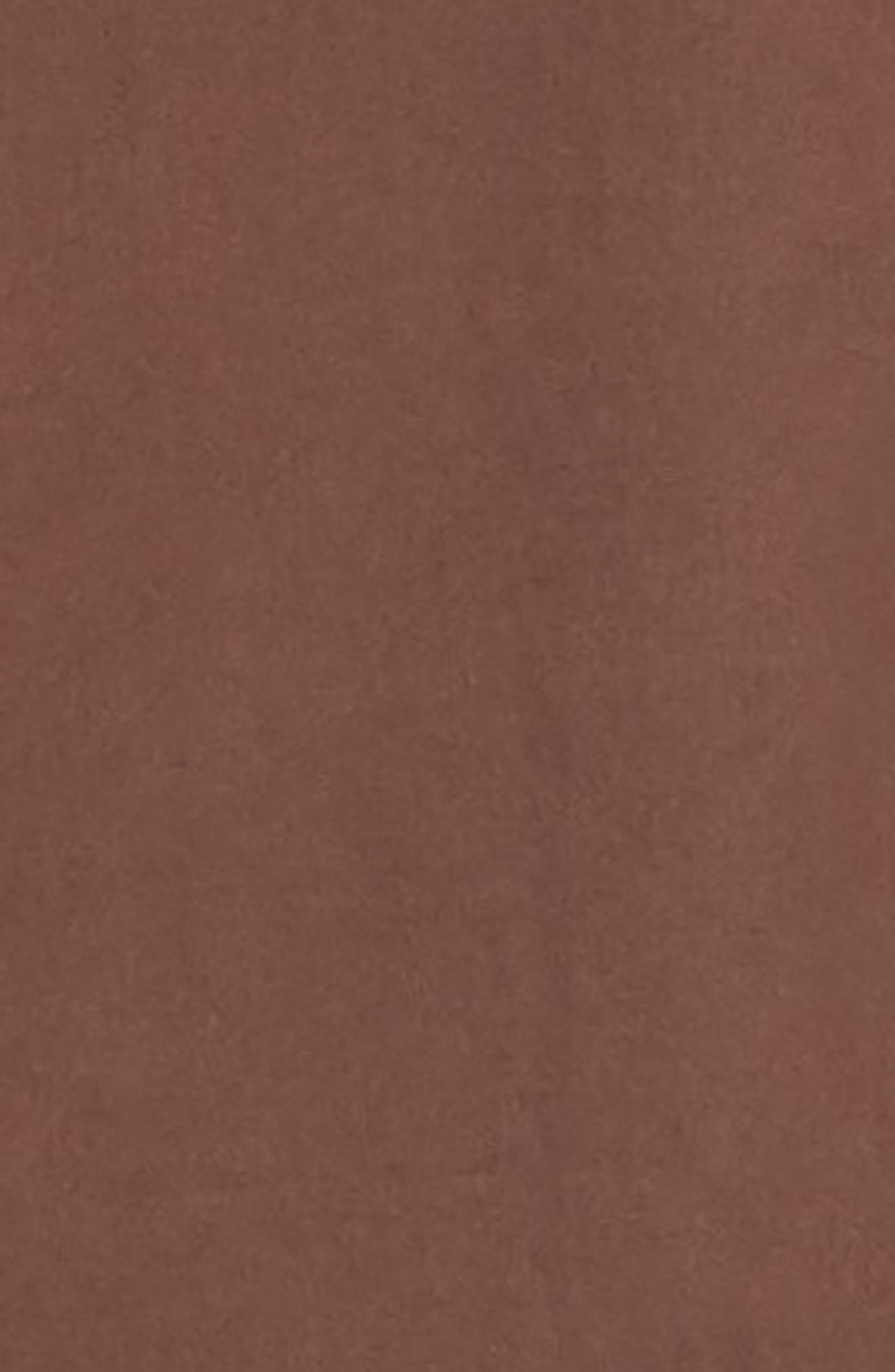 DRIES VAN NOTEN, Clasen Hand Print Shirt, Alternate thumbnail 6, color, BROWN