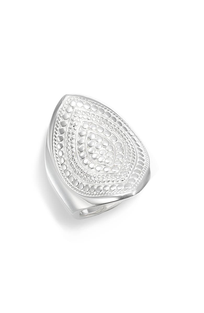 Anna Beck Accessories SIGNATURE BEADED MARQUISE RING