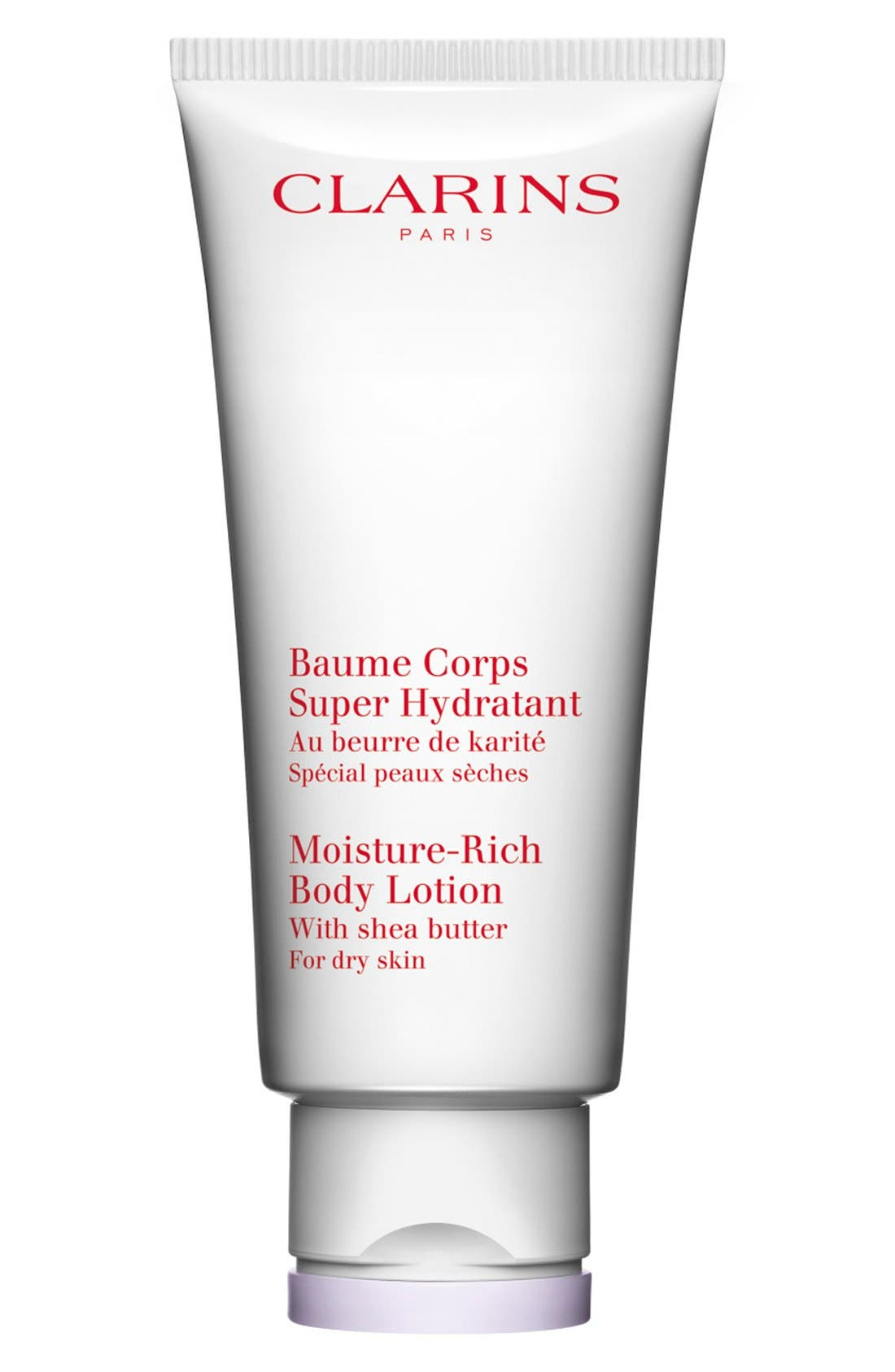 CLARINS, Moisture-Rich Body Lotion, Main thumbnail 1, color, NO COLOR