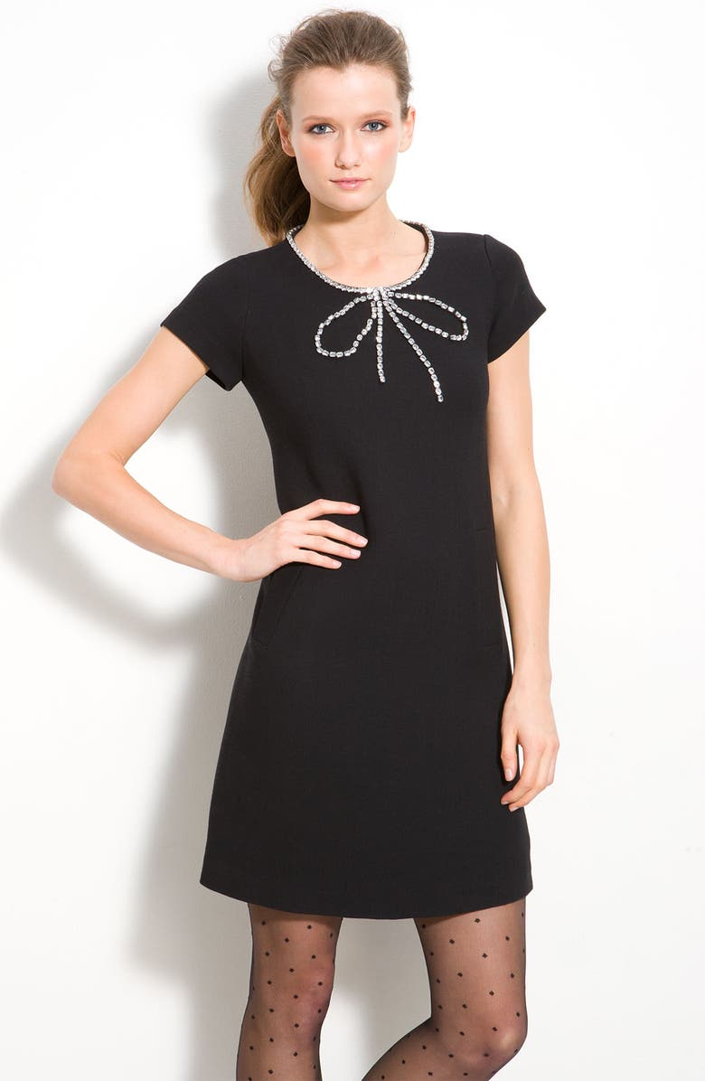 7a48e3c3269 kate spade new york  gail  embellished bow dress