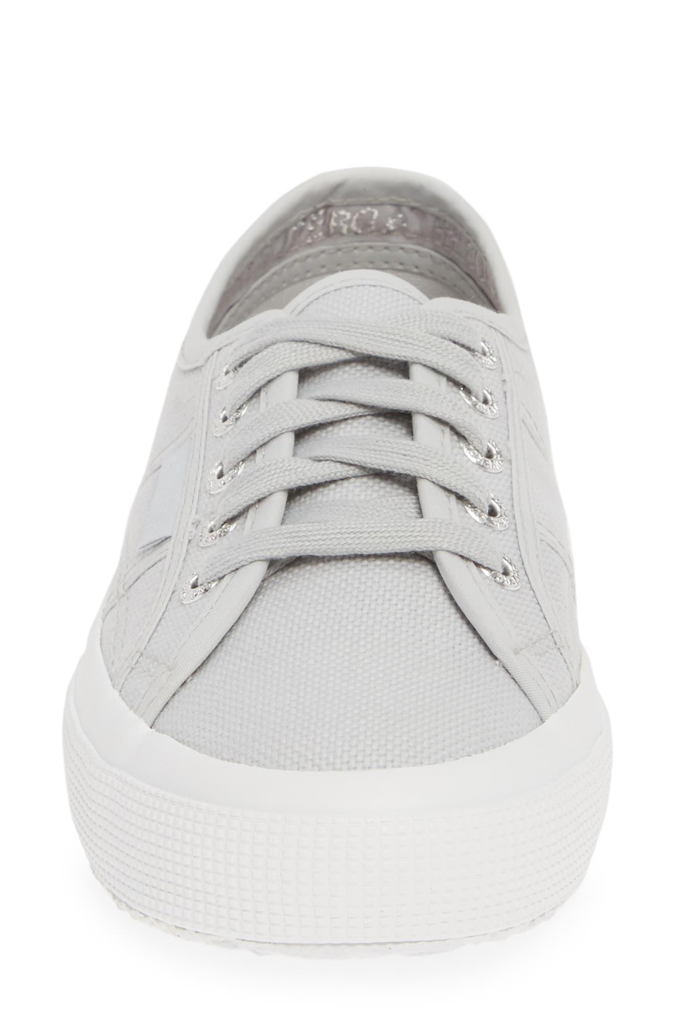 SUPERGA, 'Cotu' Sneaker, Alternate thumbnail 4, color, BEIGE DOUBLE CREAM