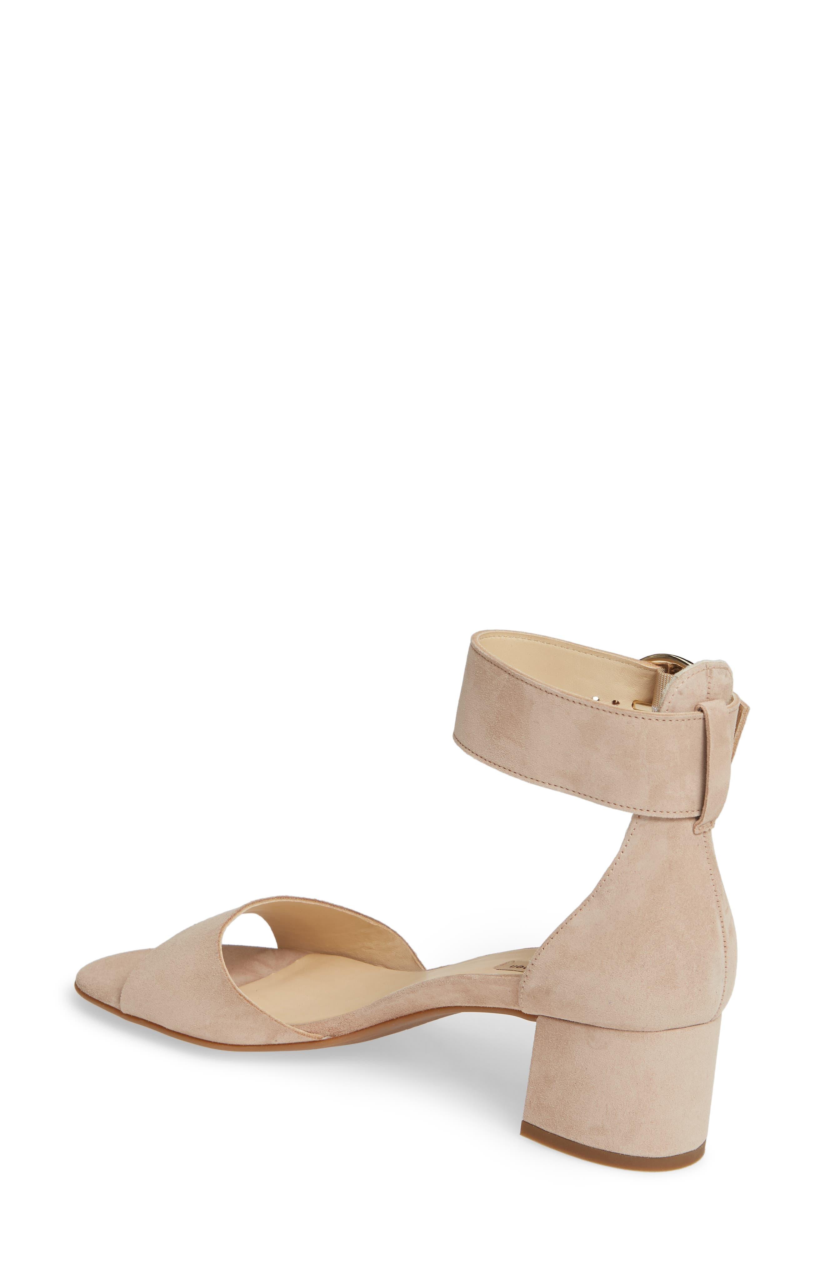 PAUL GREEN, Velma Ankle Strap Sandal, Alternate thumbnail 2, color, SAHARA SUEDE