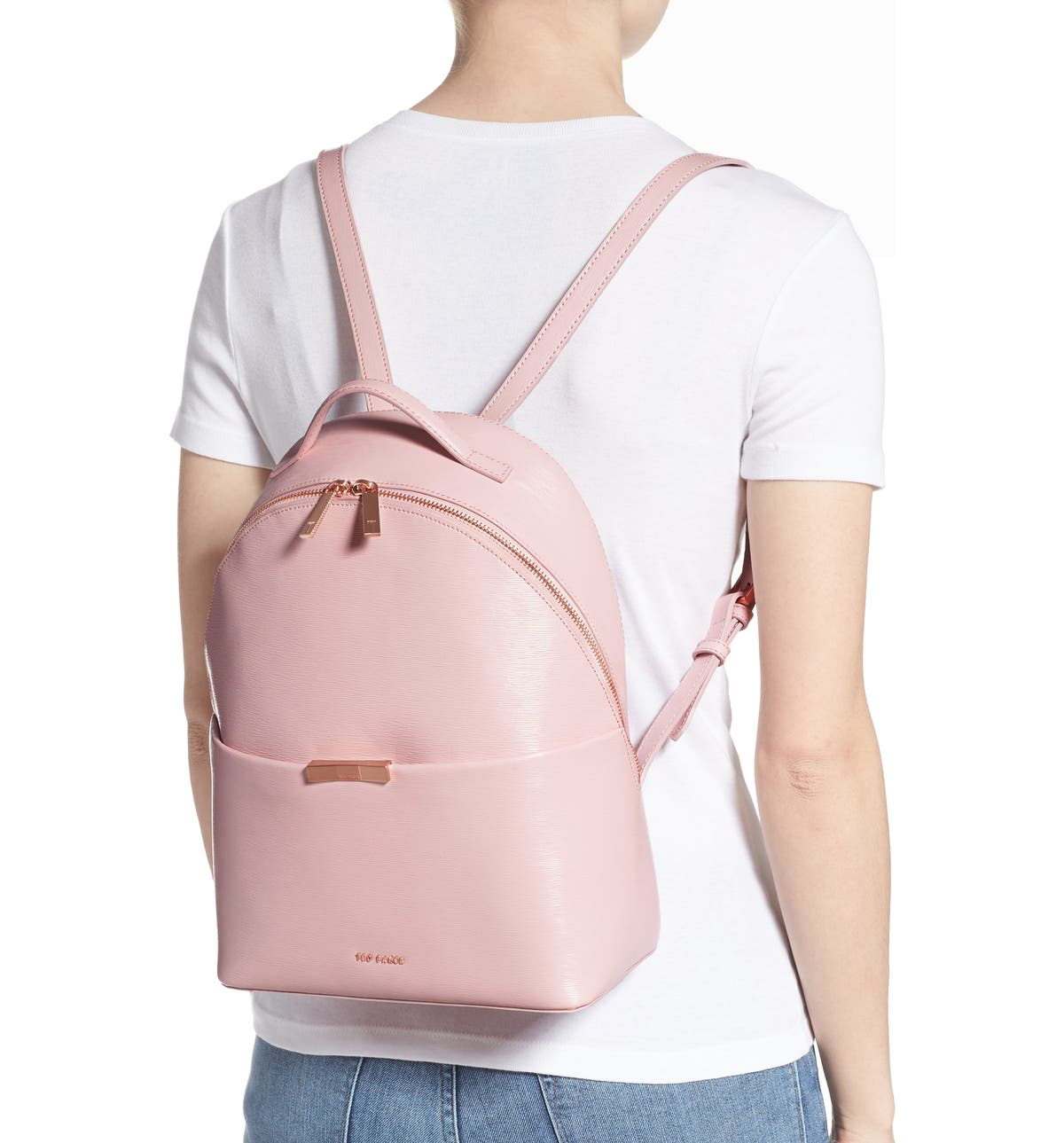76f170746 Ted Baker London Jenyy Faceted Bow Leather Backpack