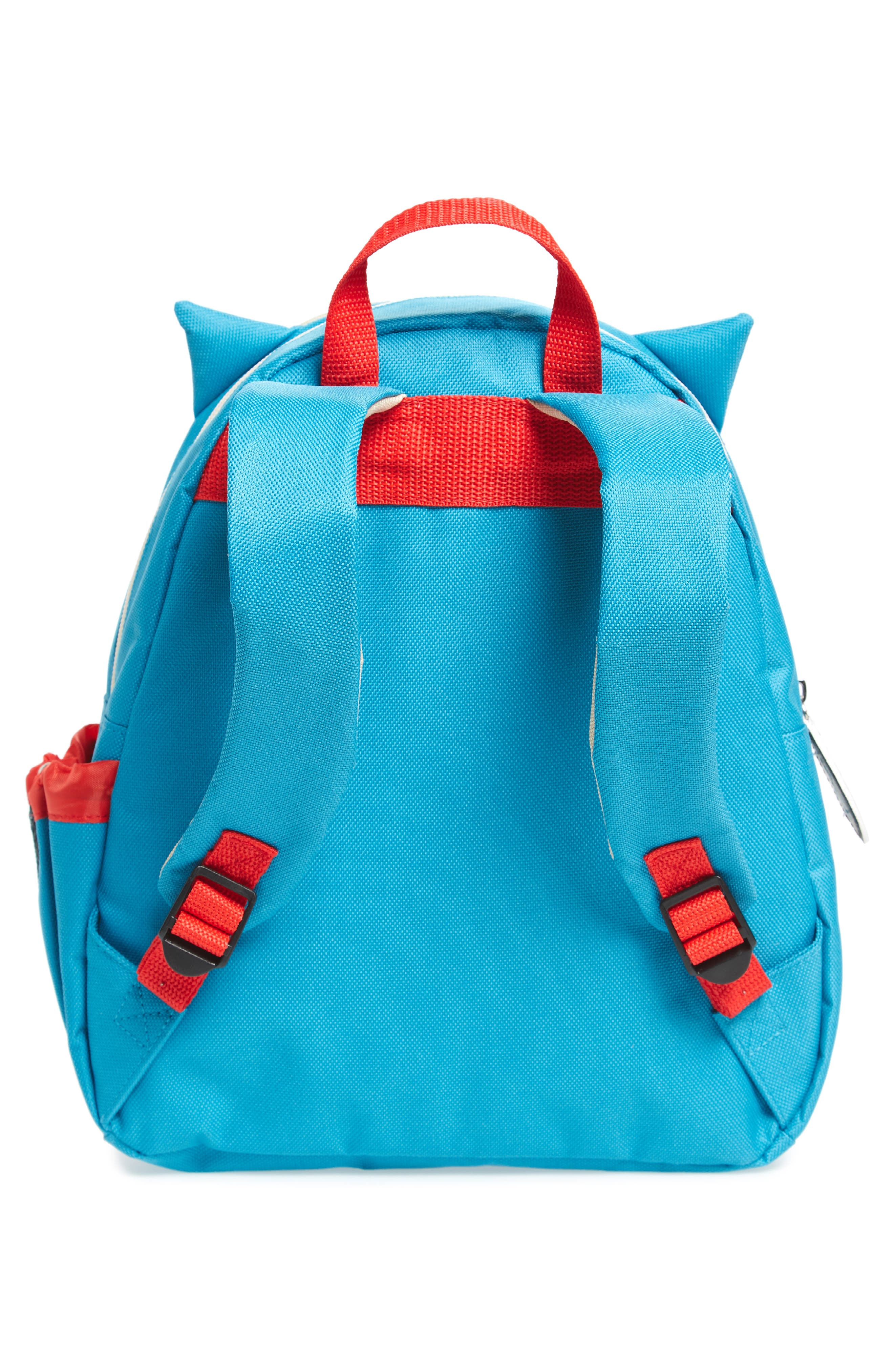 SKIP HOP, Owl Zoo Pack Backpack, Alternate thumbnail 2, color, BLUE MULTI