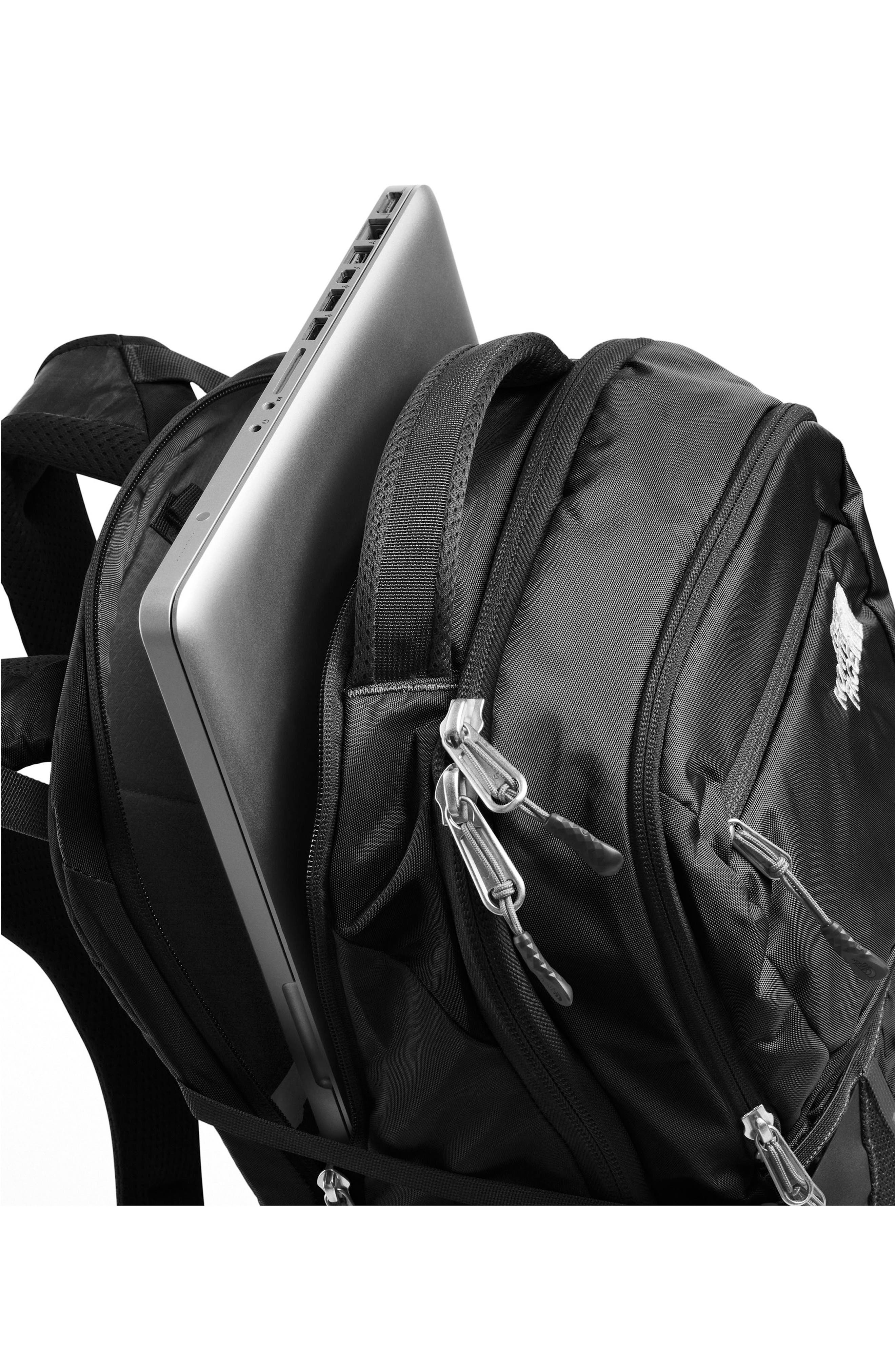 THE NORTH FACE, Recon Backpack, Alternate thumbnail 4, color, TNF BLACK
