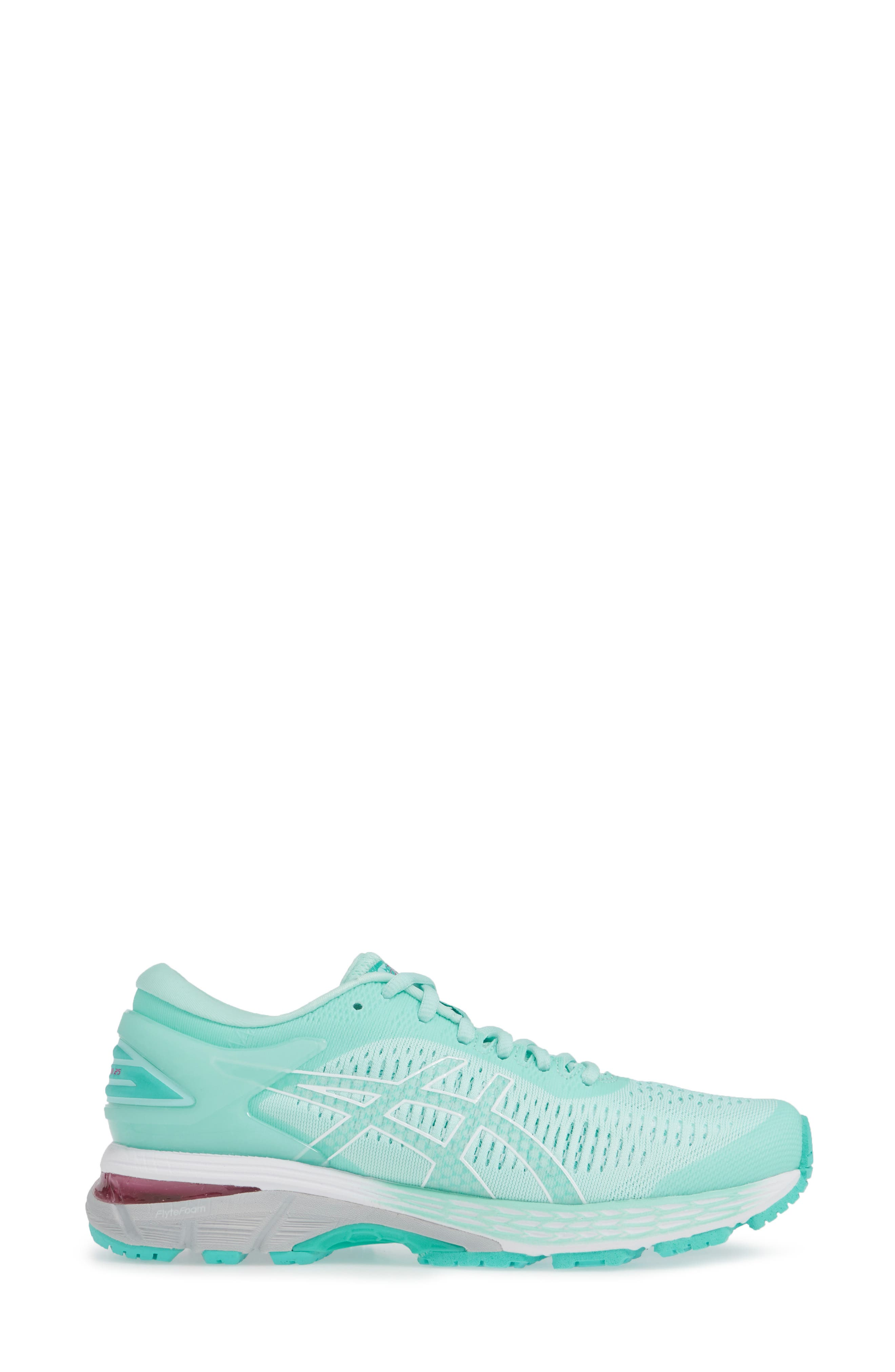ASICS<SUP>®</SUP>, GEL-Kayano<sup>®</sup> 25 Running Shoe, Alternate thumbnail 3, color, ICY MORNING/ SEA GLASS