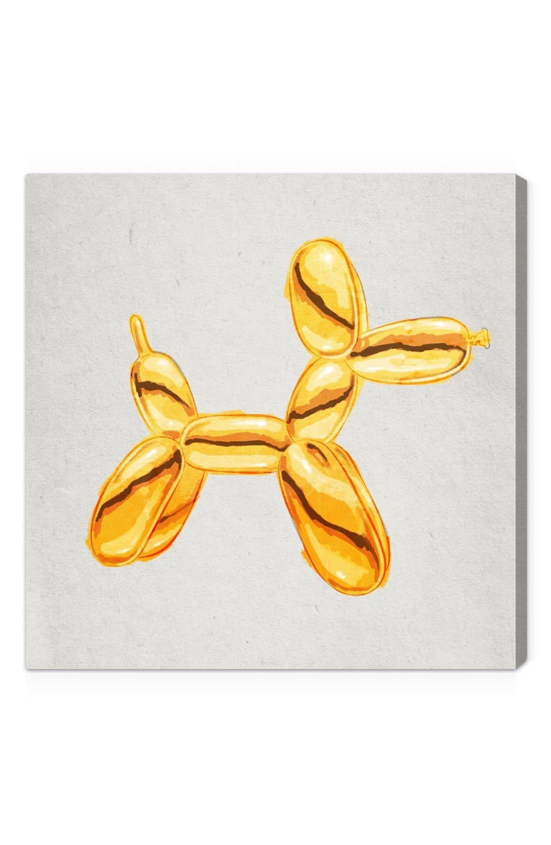OLIVER GAL, 'Balloon Dog Lux' Wall Art, Main thumbnail 1, color, 700