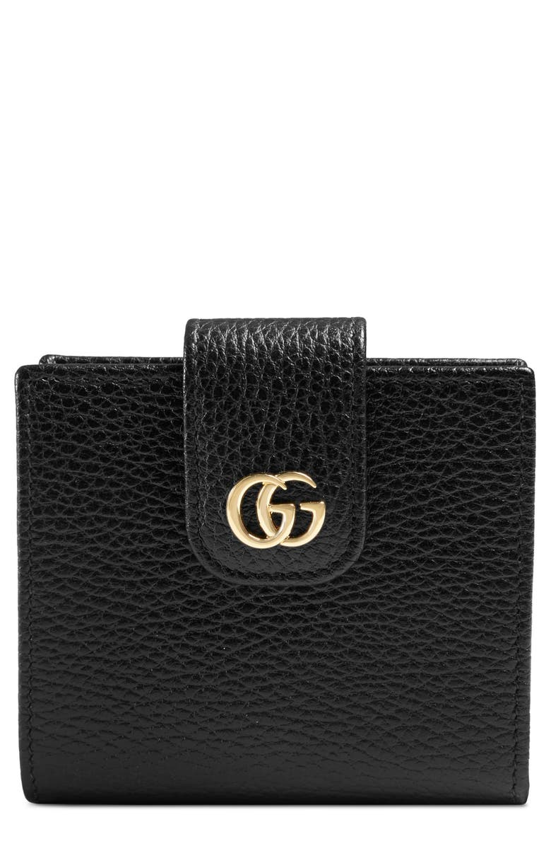 e29a1c25817 Gucci GG Marmont Leather Wallet
