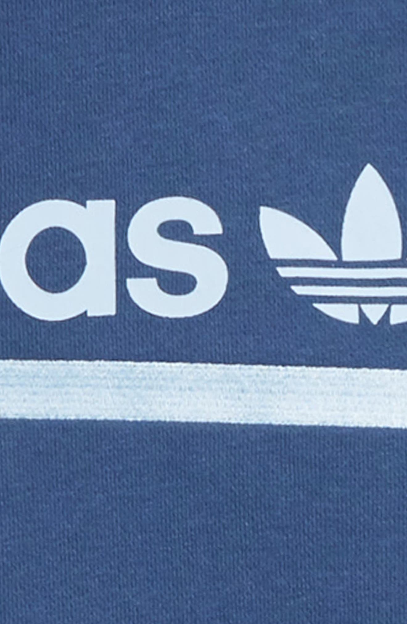 ADIDAS ORIGINALS, Kaval Hoodie, Alternate thumbnail 2, color, NIGHT MARINE/ CLEAR SKY