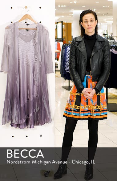 Komorav Charmeuse Dress with Cascade Jacket, sales video thumbnail