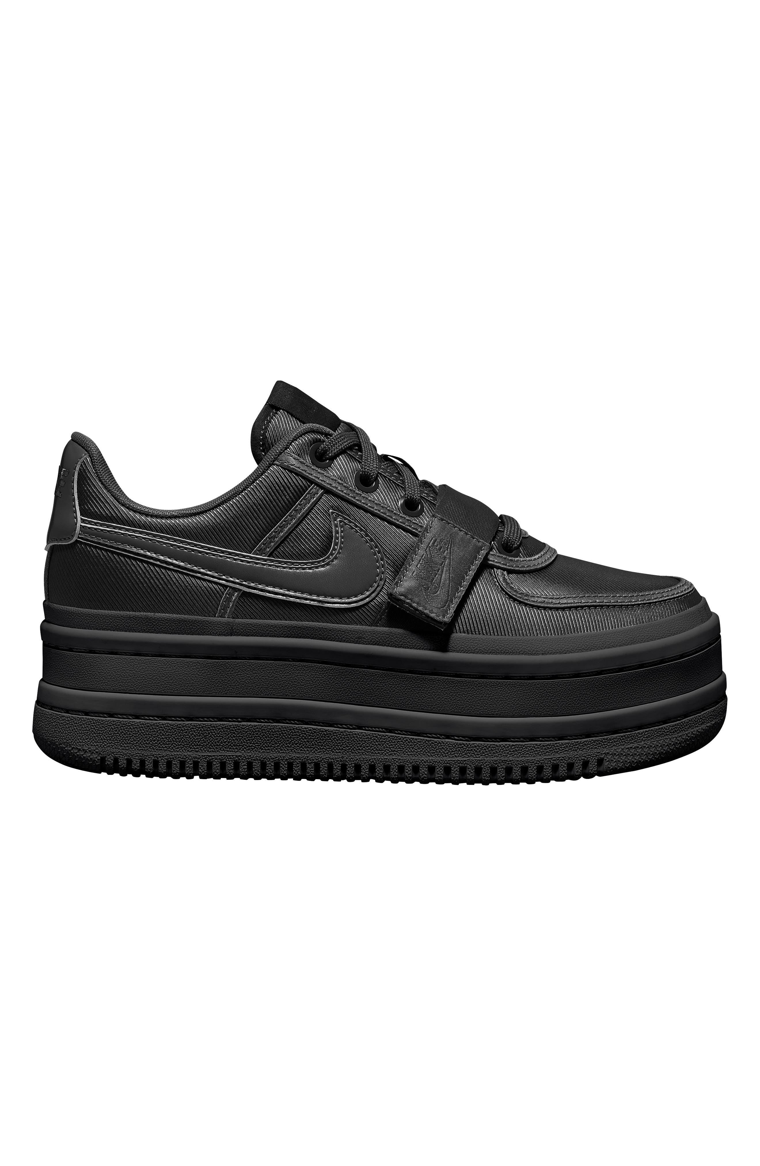 NIKE, Vandal 2K Sneaker, Main thumbnail 1, color, BLACK/ BLACK