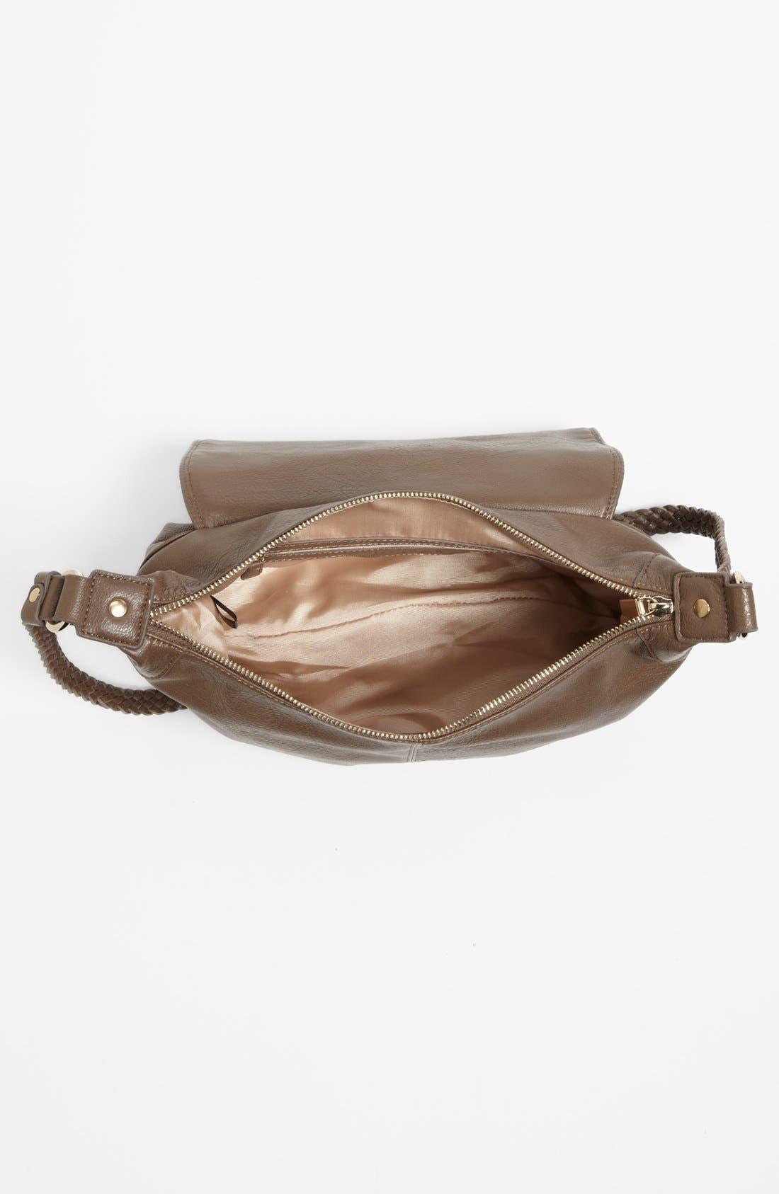 IZZY & ALI, 'Farah' Fringe Shoulder Bag, Alternate thumbnail 4, color, 250