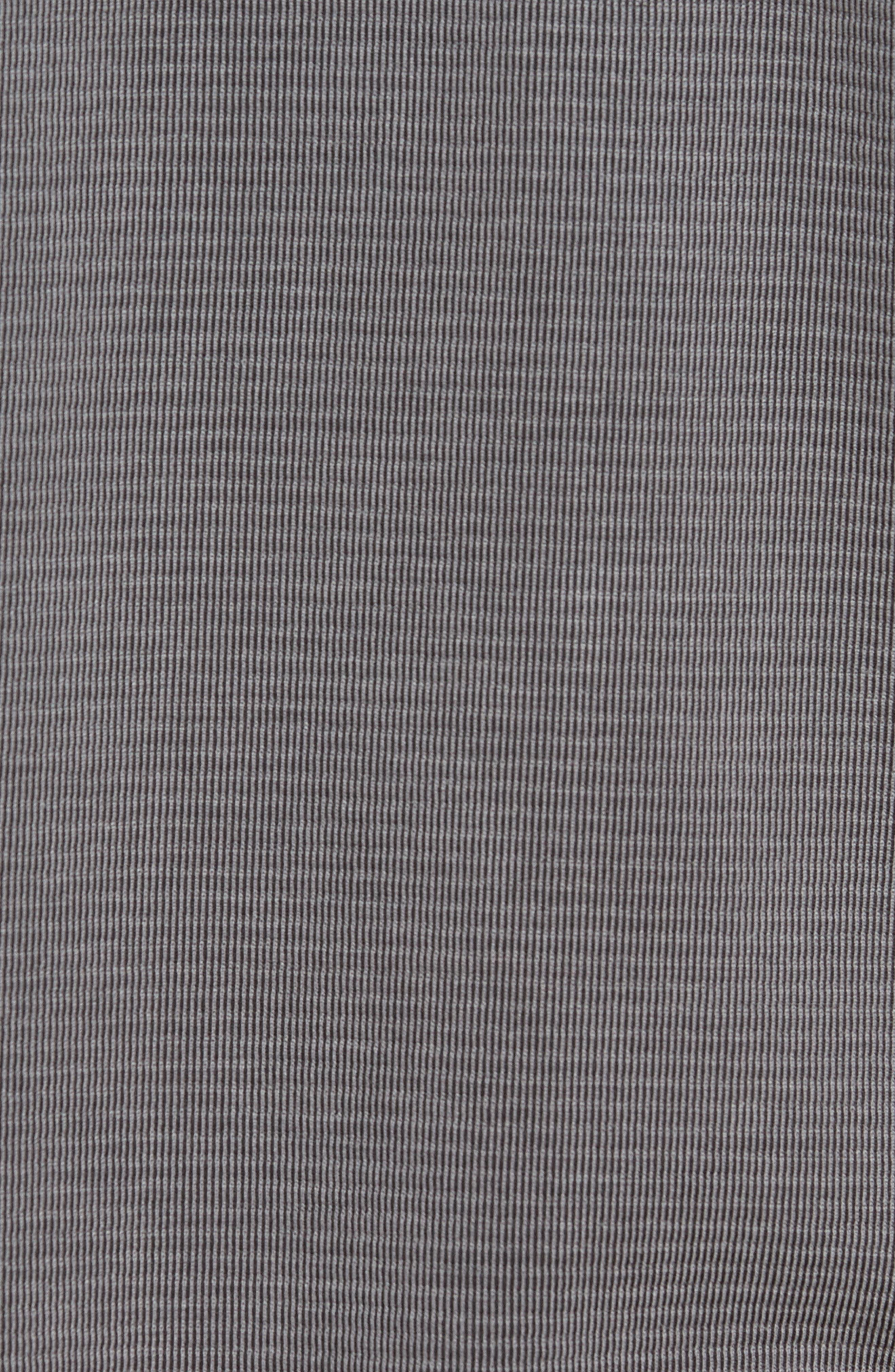 TOMMY BAHAMA, Coastal Crest Polo, Alternate thumbnail 5, color, BLACK