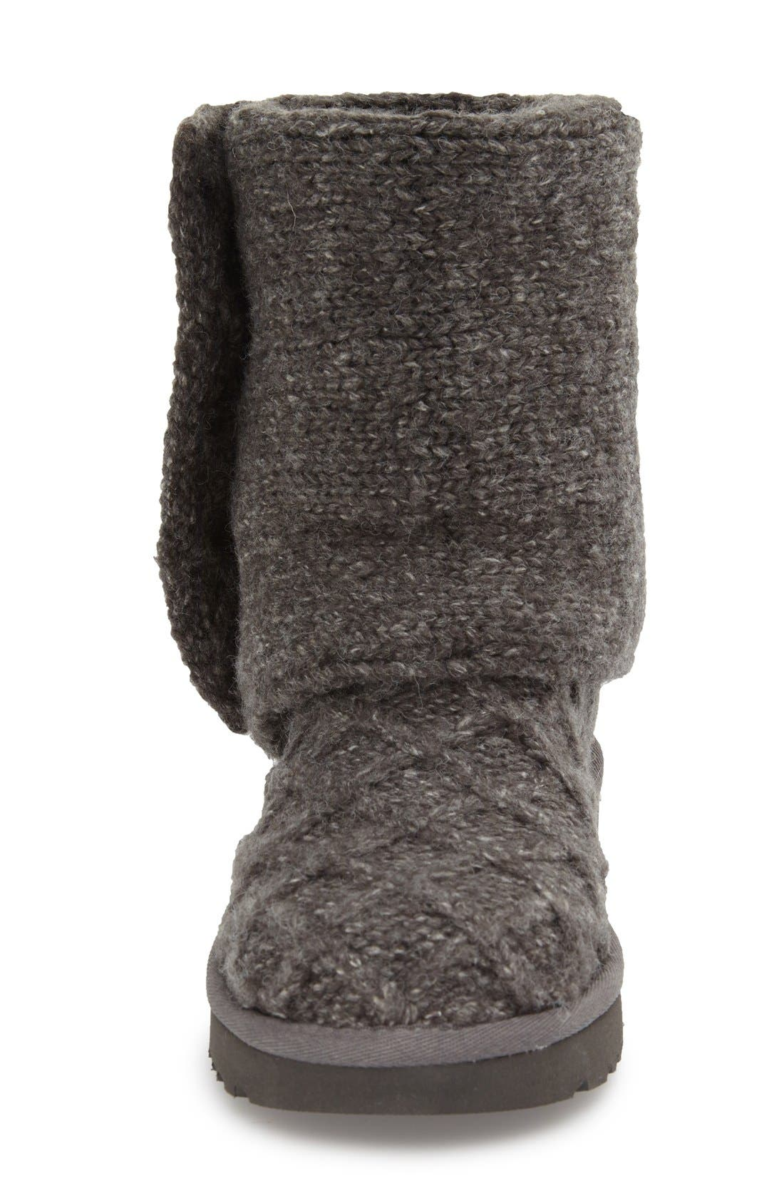 UGG<SUP>®</SUP>, Lattice Cardy II Boot, Alternate thumbnail 2, color, 020